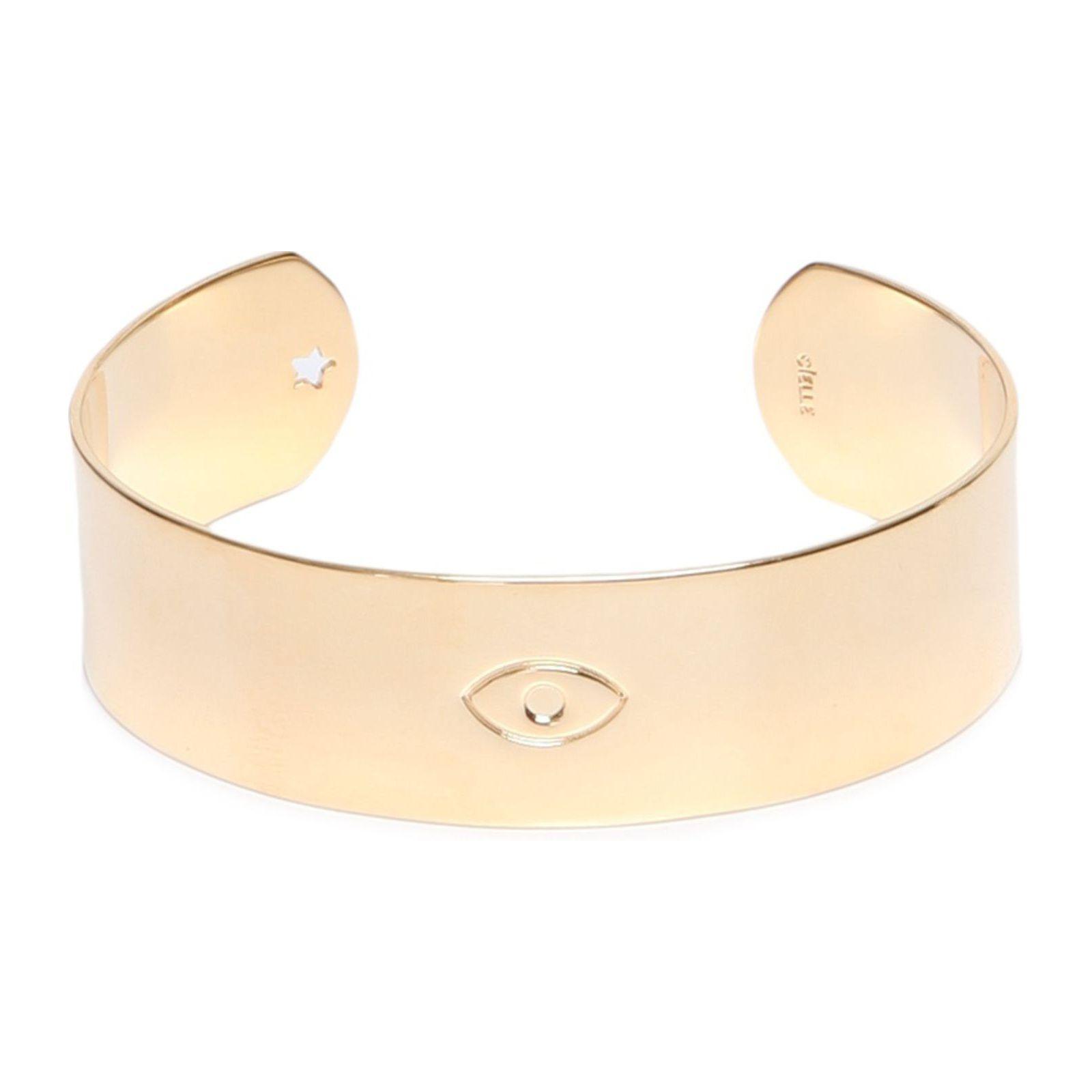 Bracelete Shine Olho - Dourado