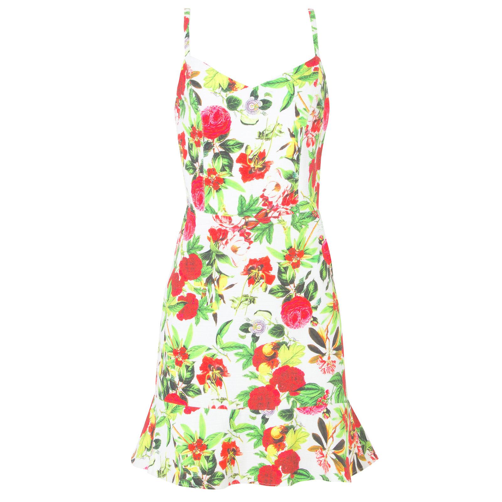 Vestido Rosas 284 - Branco