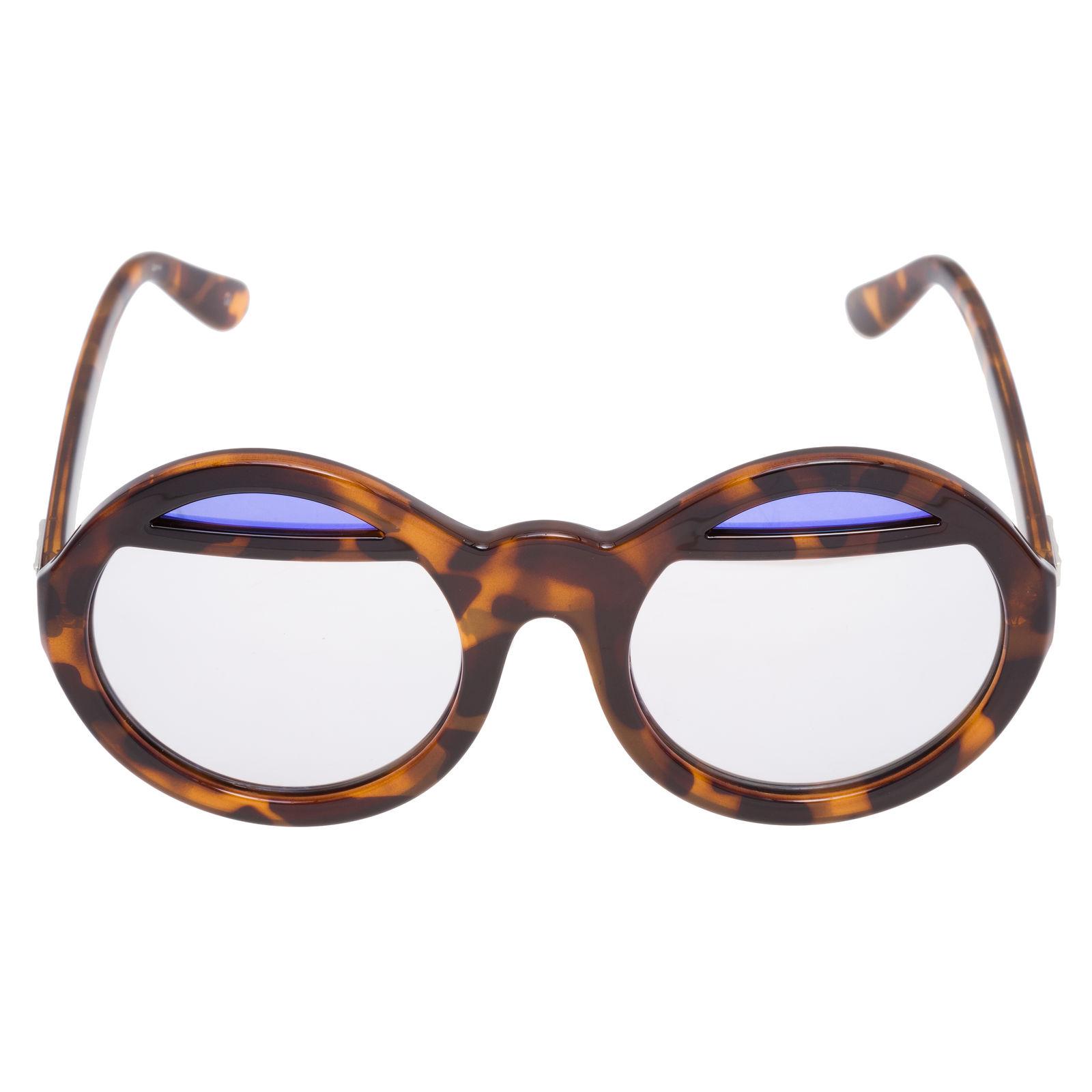 Óculos Espelhado Mirrors Le Specs - Marrom