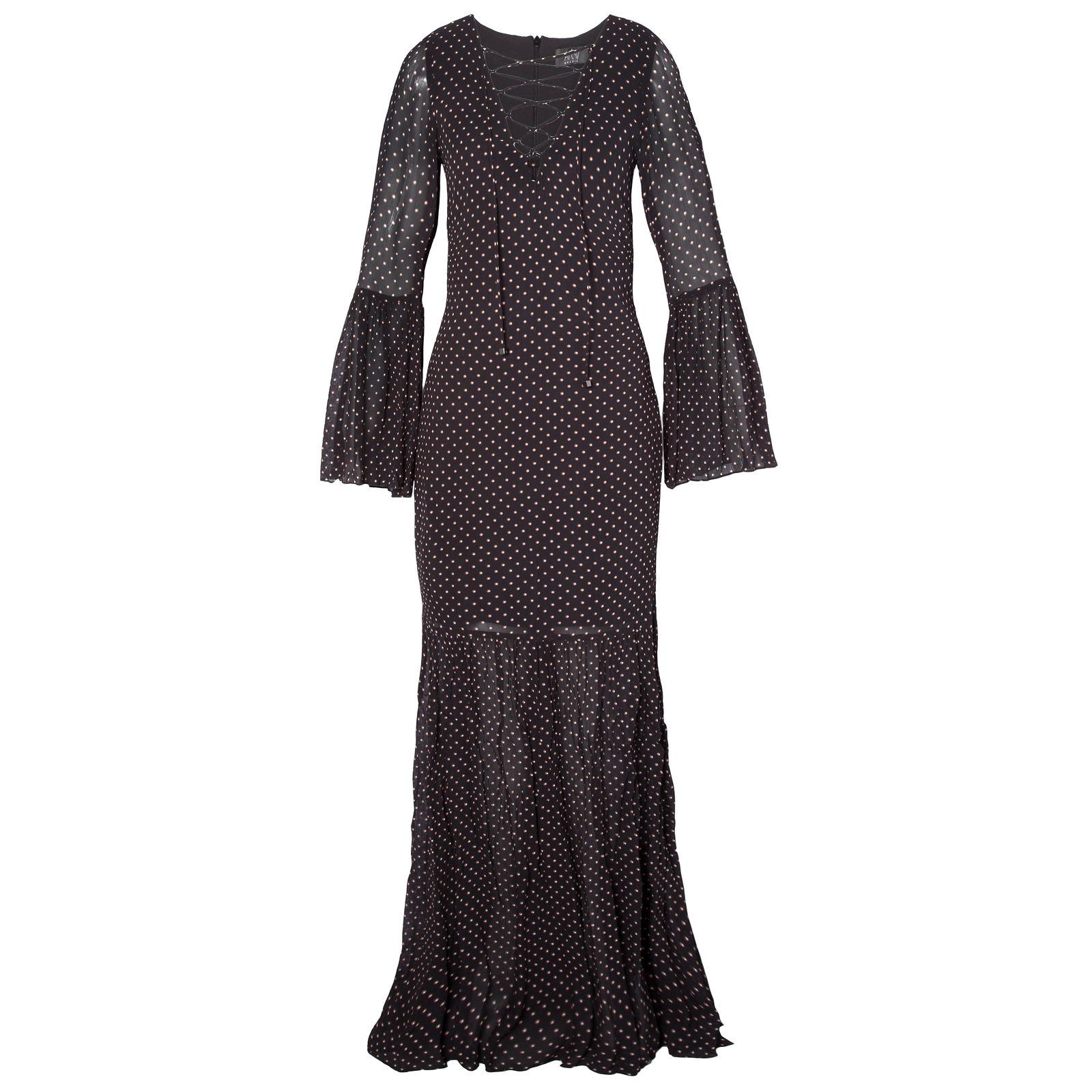 Vestido Longo Poás - Preto