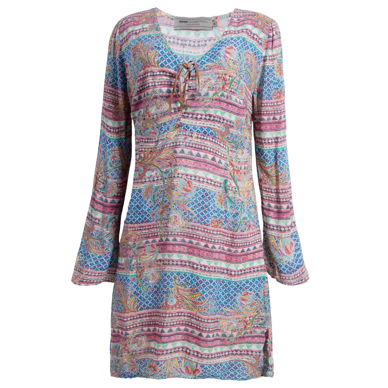 Vestido Sweet Color Tantan - Azul