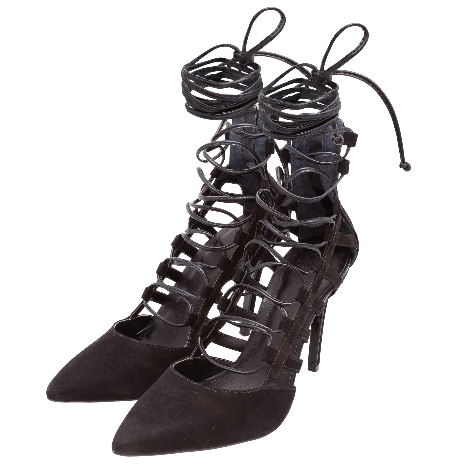 Scarpin Strappy My Shoes - Preto