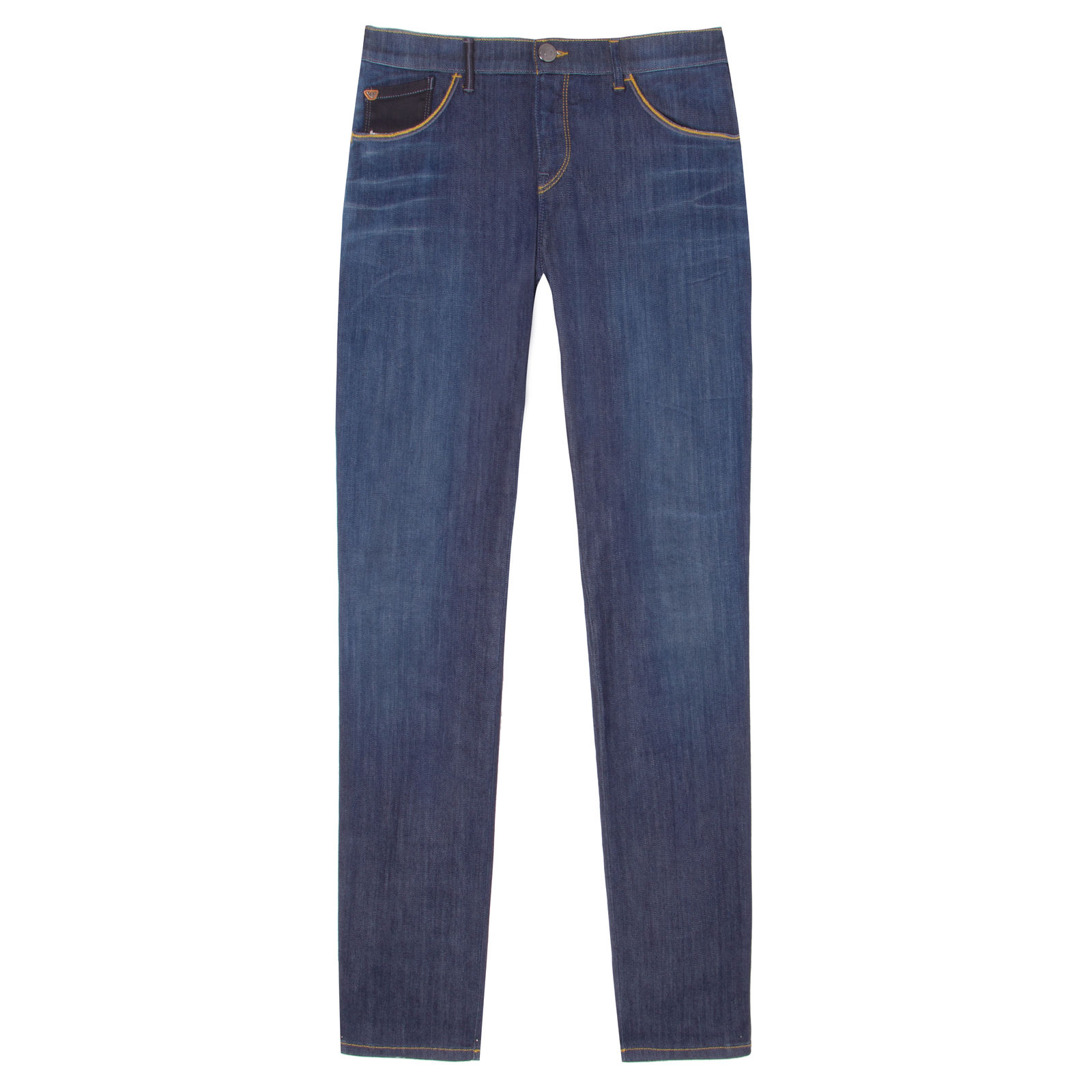 Calça Jeans Skinny Pesponto Armani Jeans