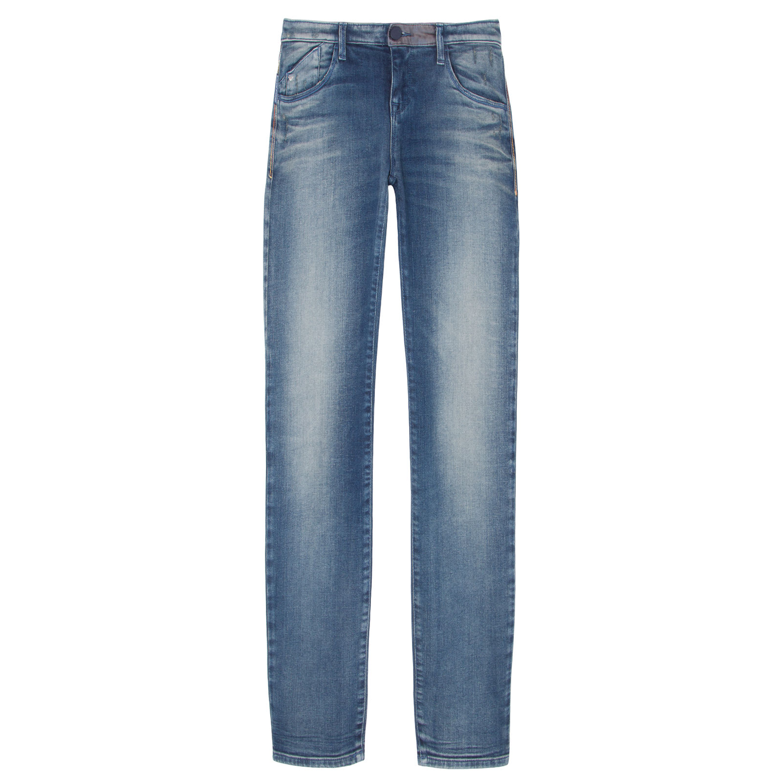 Calça Jeans Skinny Estonada Armani Jeans