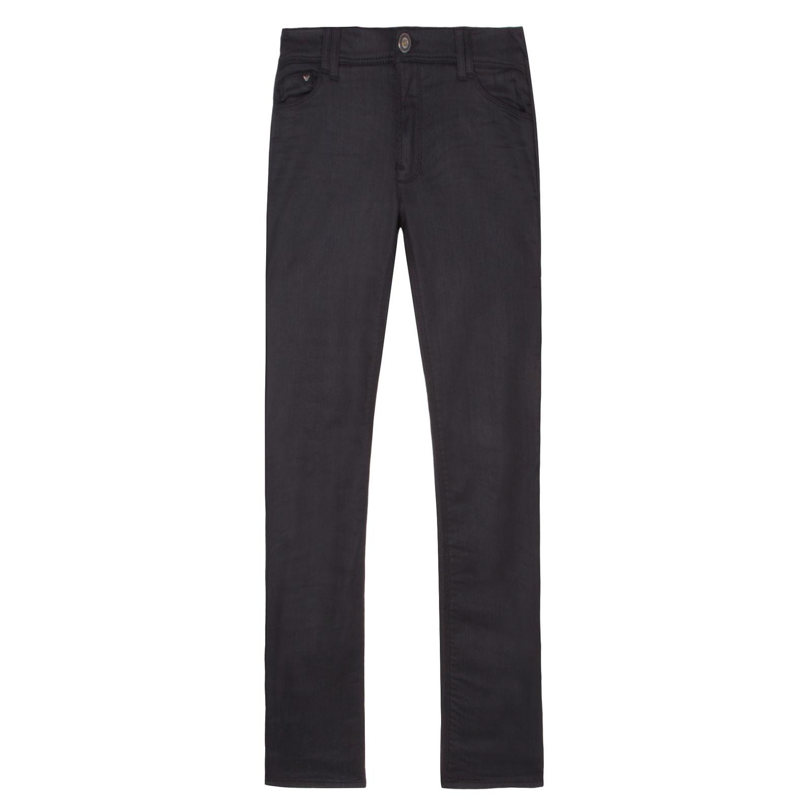 Calça Skinny Black Armani Jeans - Preta