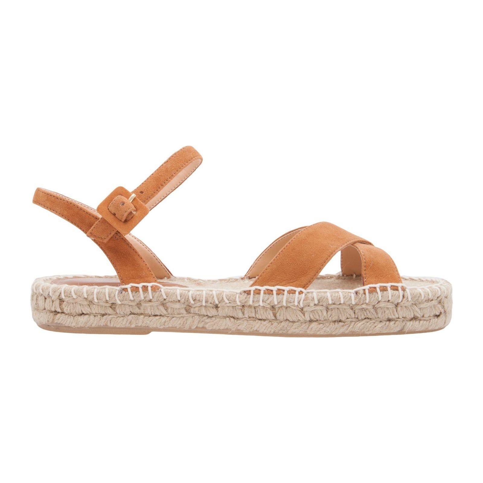 Sandália Flatform Natural - Marrom