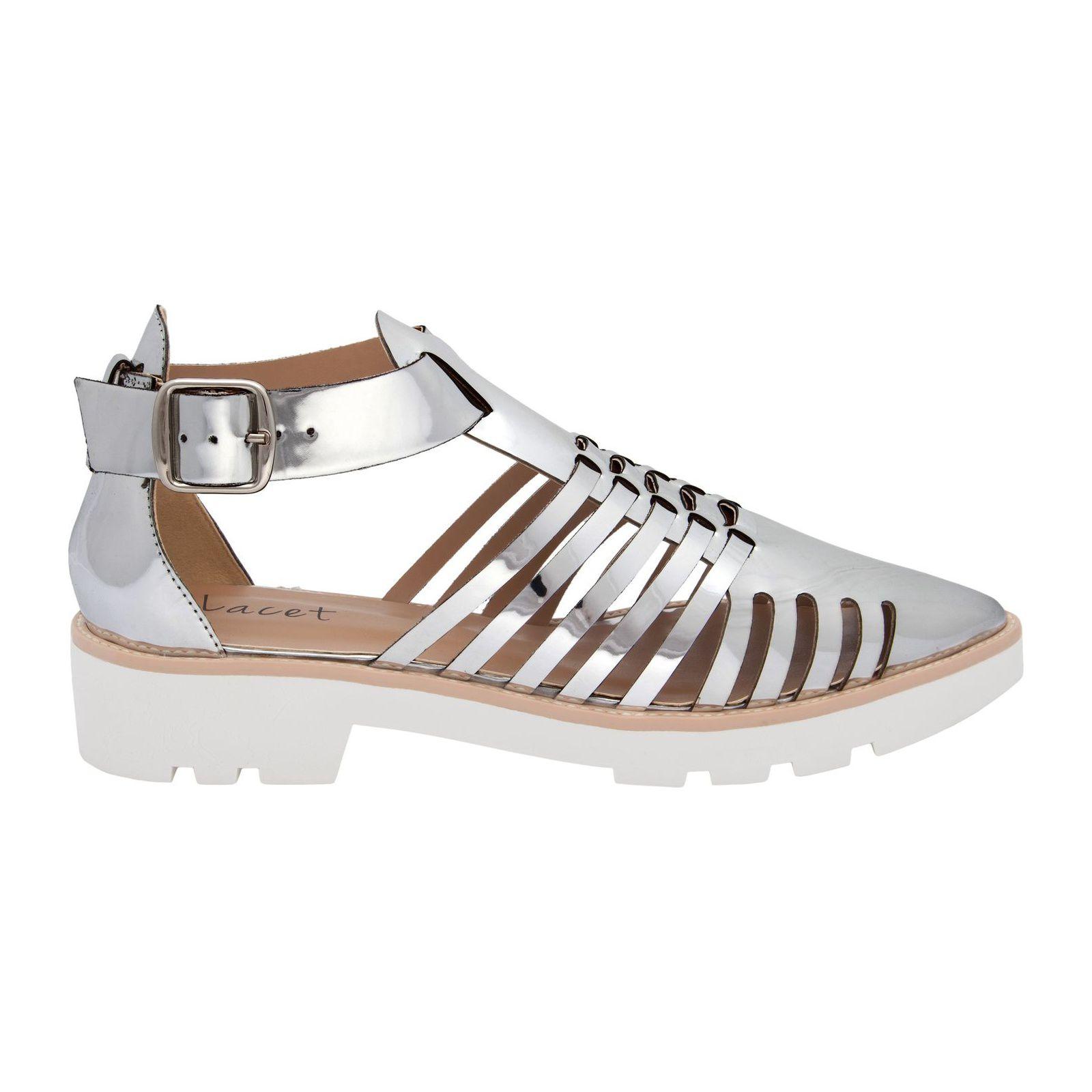 Sapato Futuristic Specchio - Prata