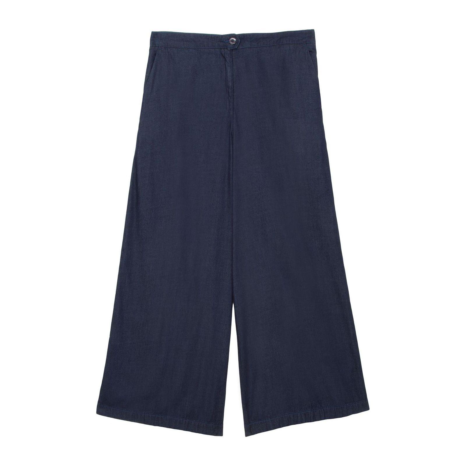 Calça Jeans Pantacourt Trouser