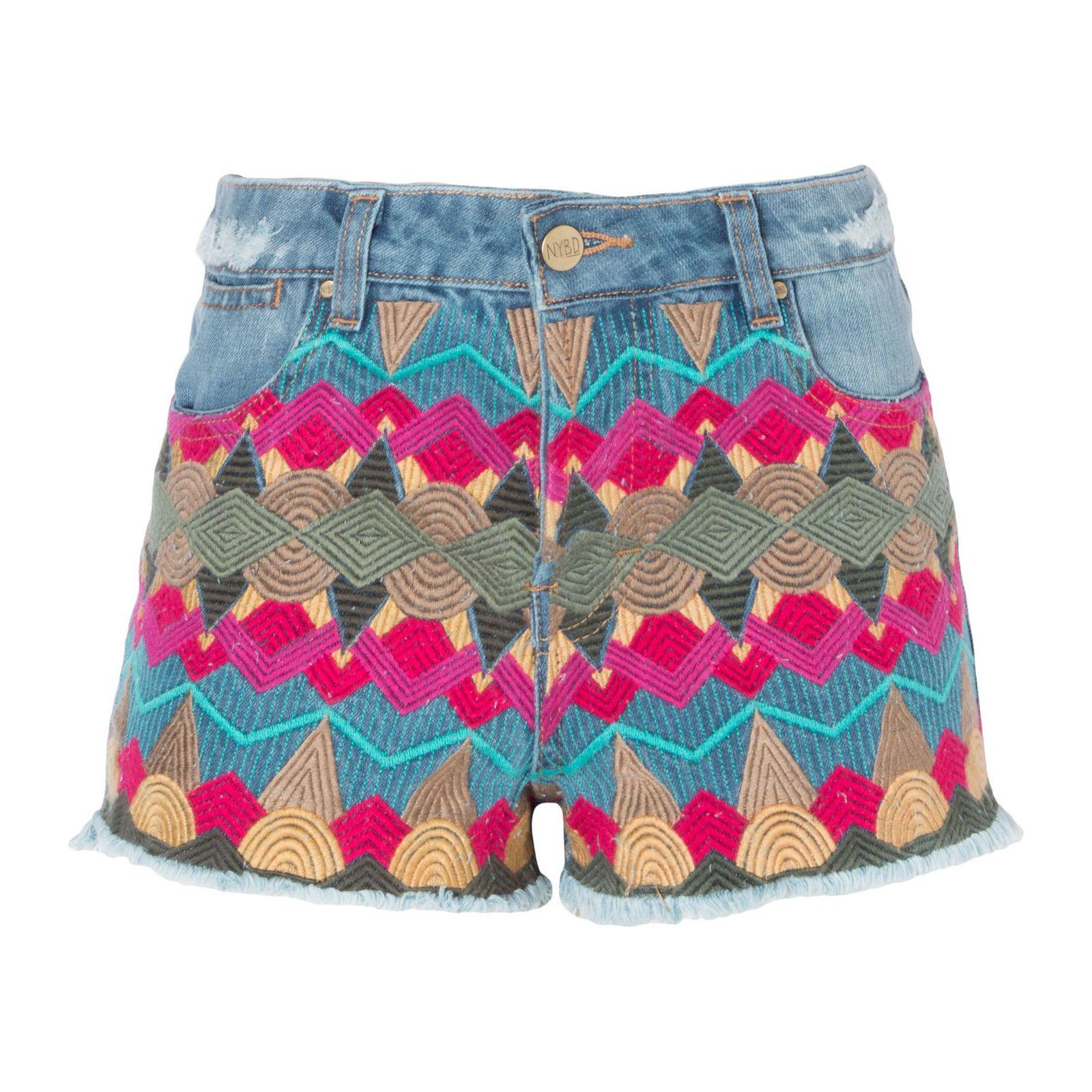 Short Jeans Bordados
