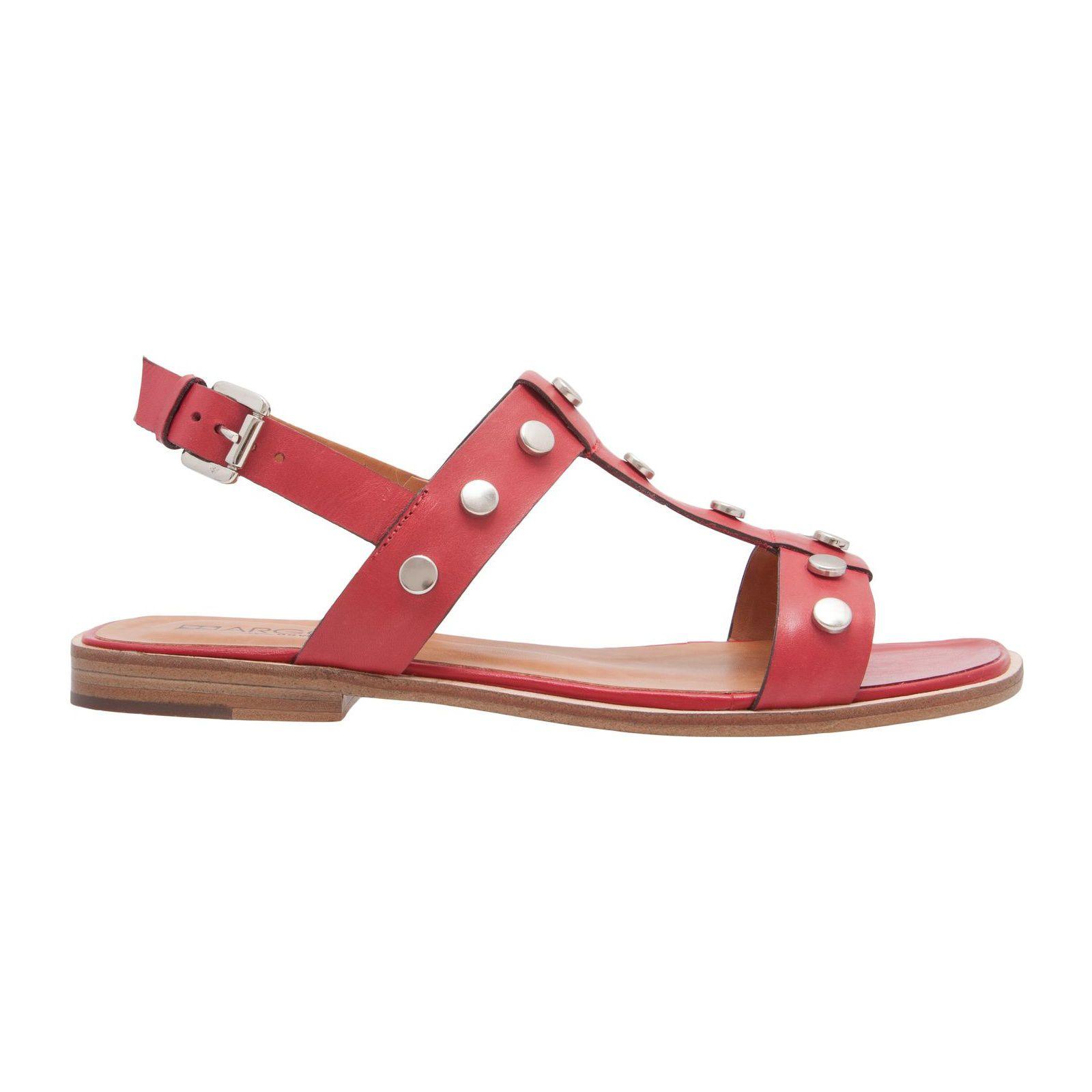 Sandália Rasteira Tacha - Vermelha