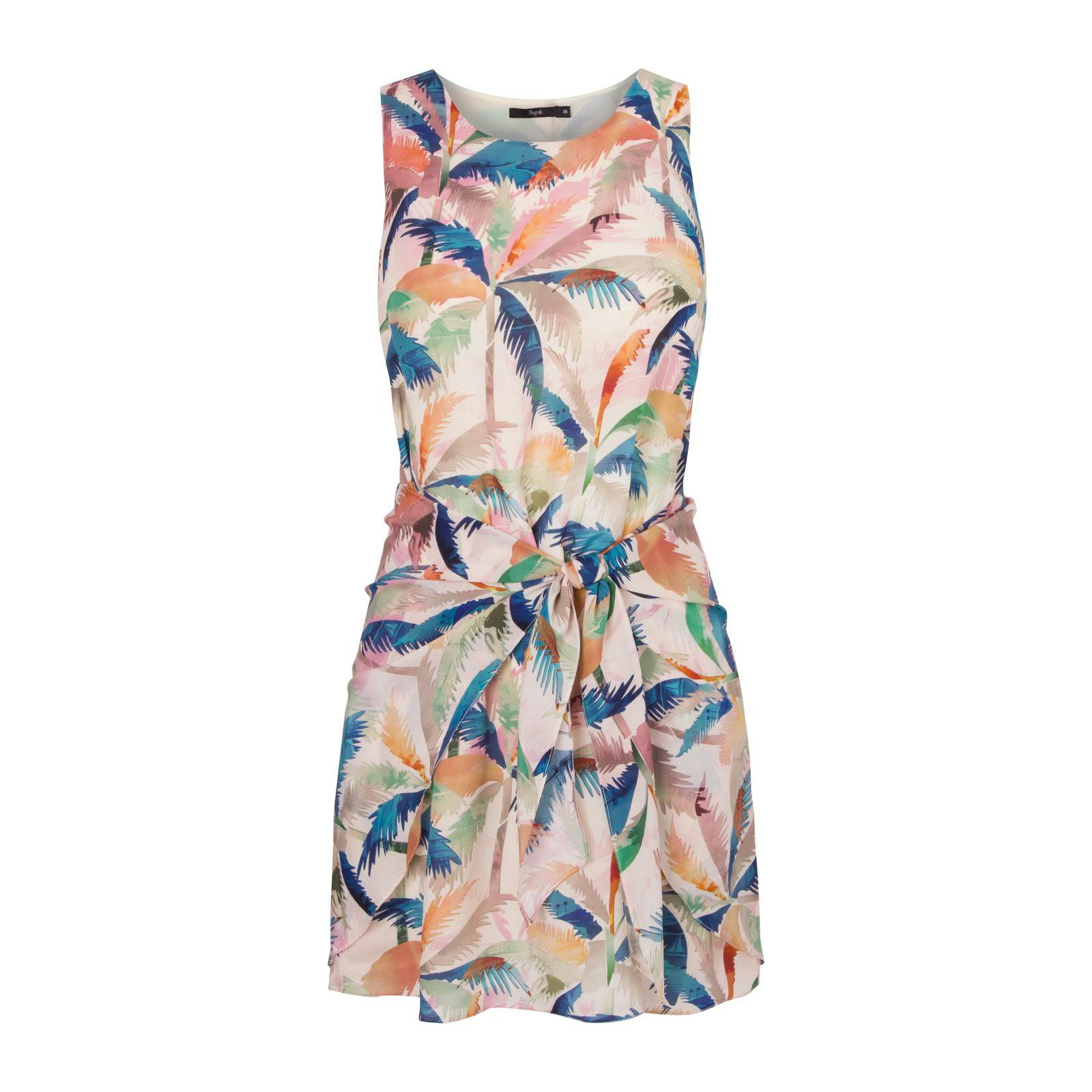 Vestido Seda Lucia - Bege