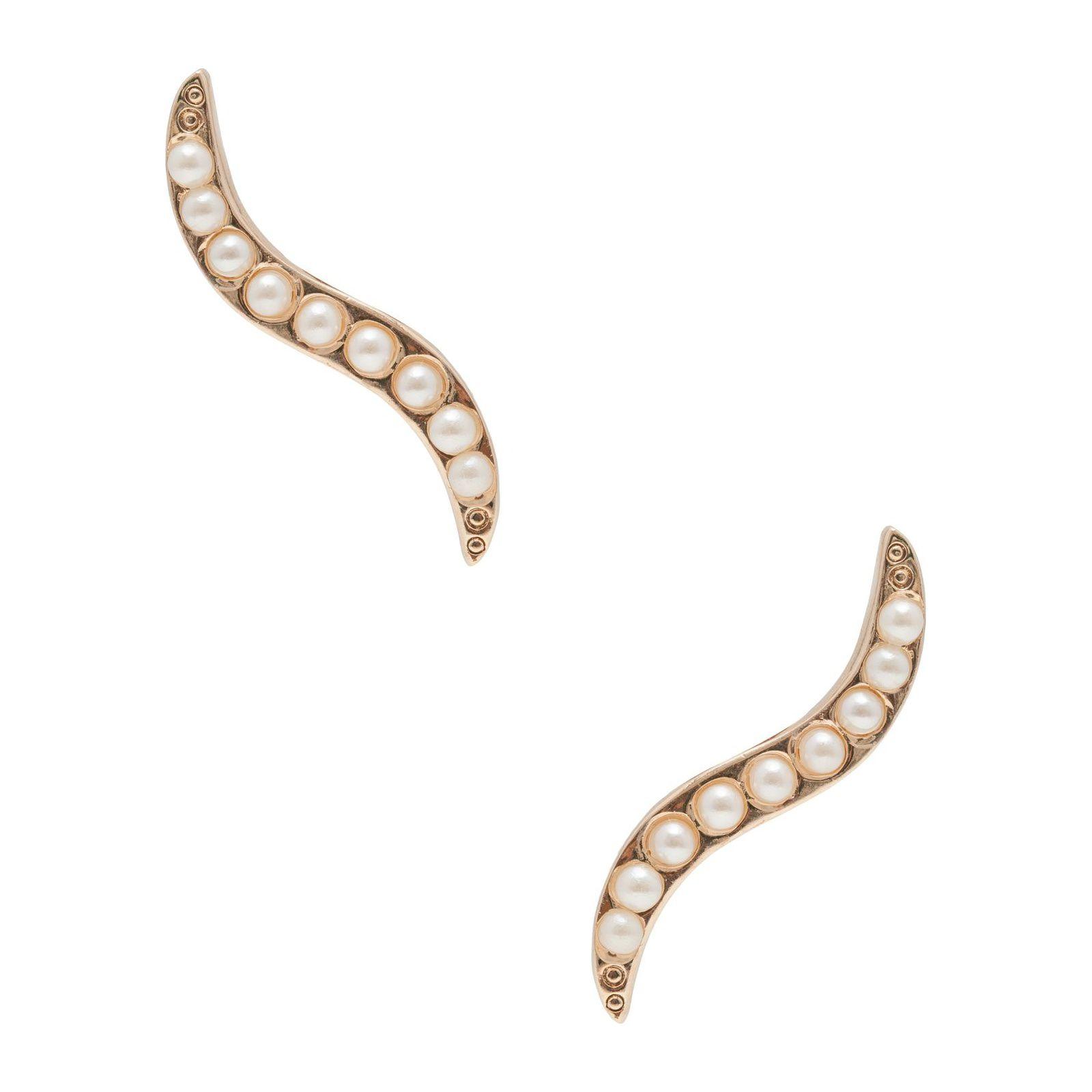 Brinco Ear Cuff Side - Dourado
