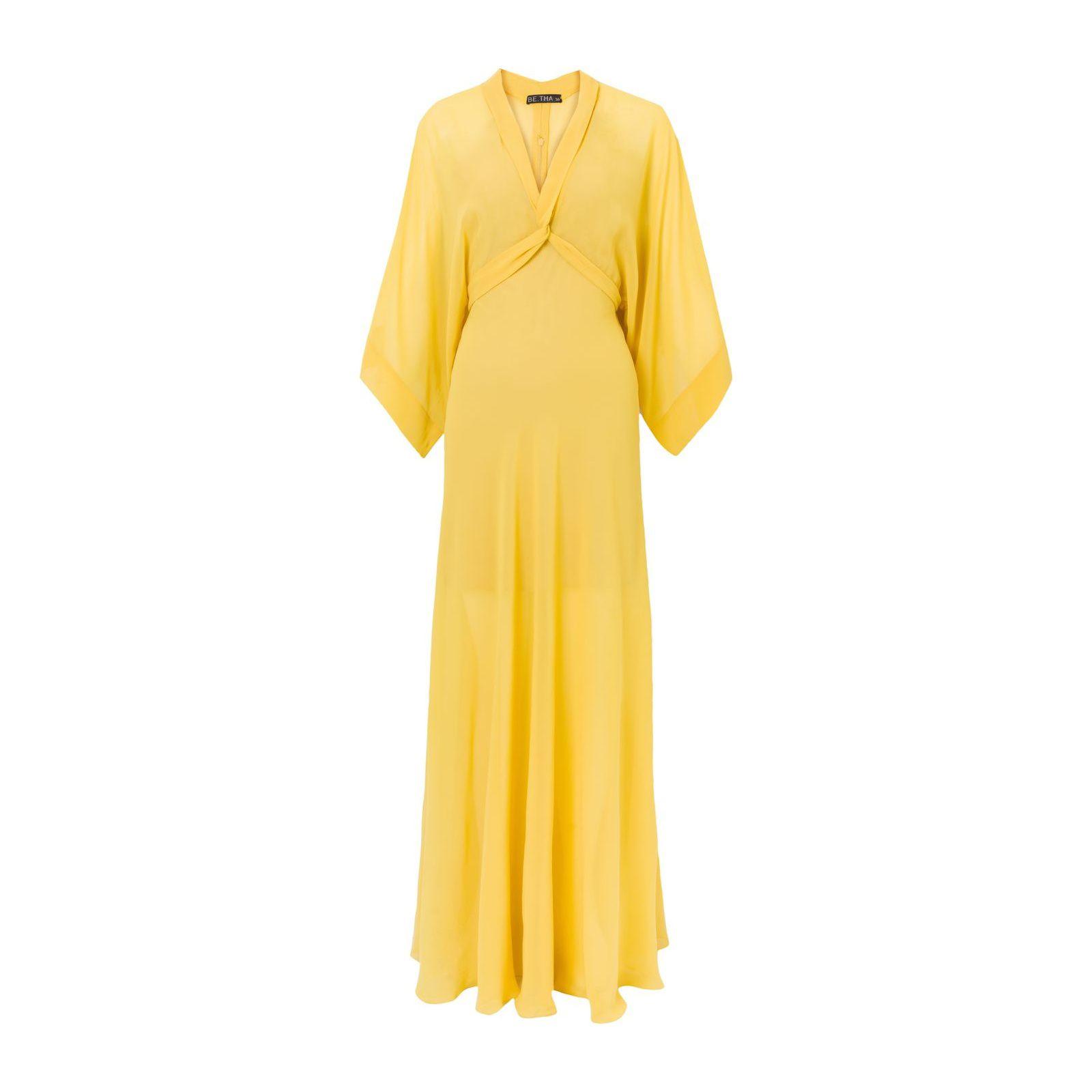 Vestido Longo Duquesa - Amarelo