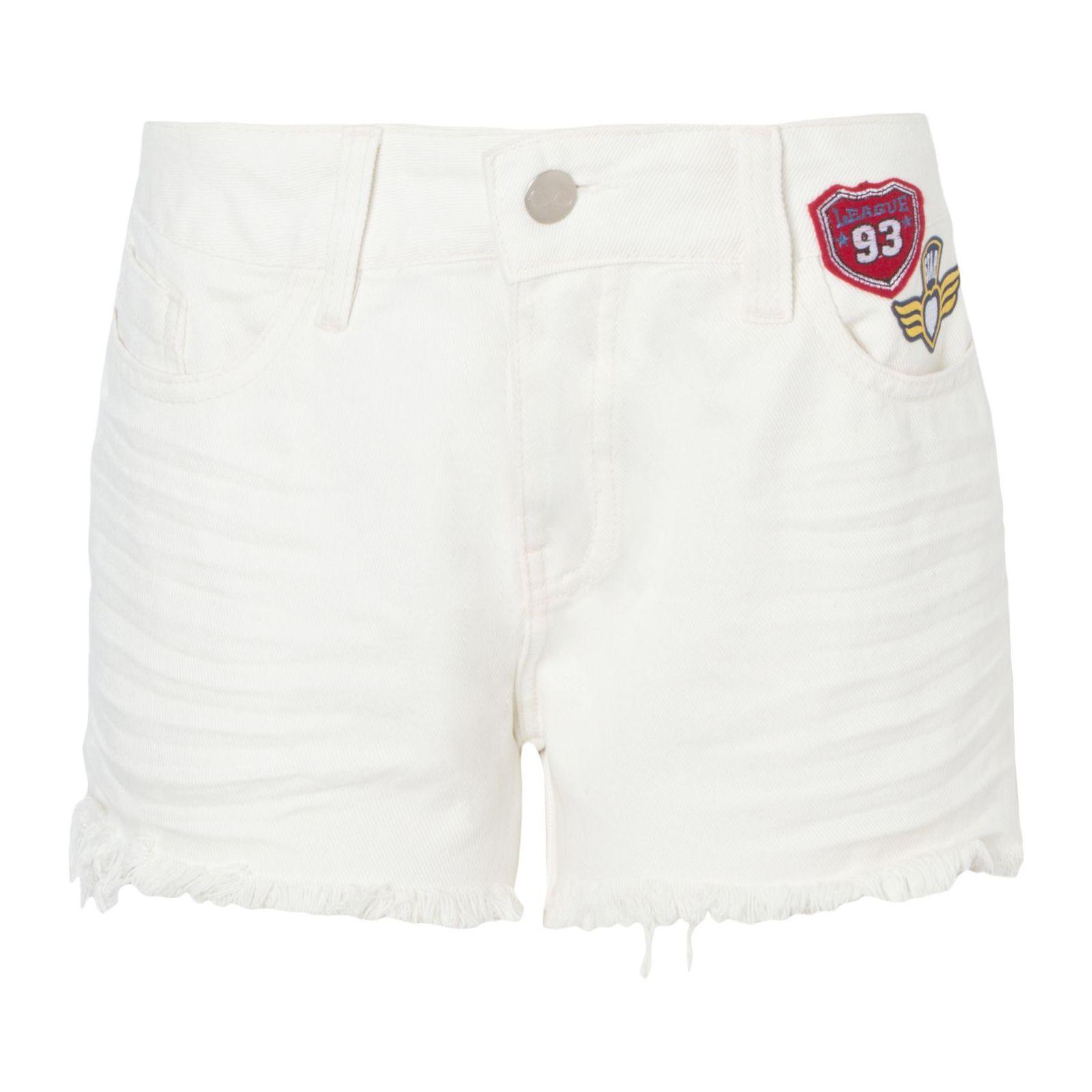 Short Sarja Patches - Off White