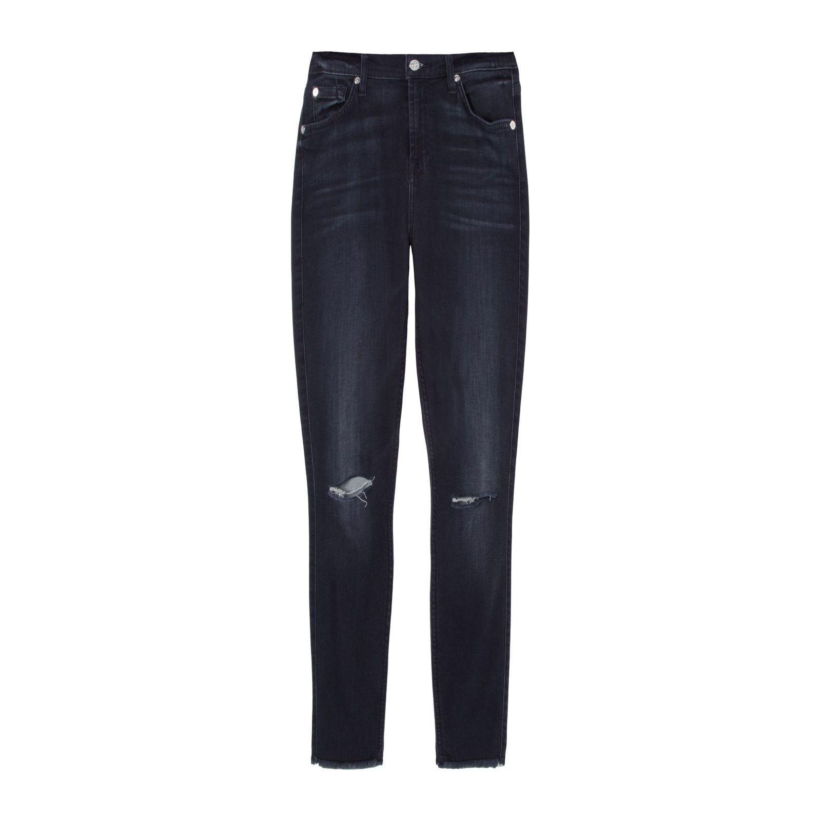 Calça Jeans Ankle Skinny Released - Preta