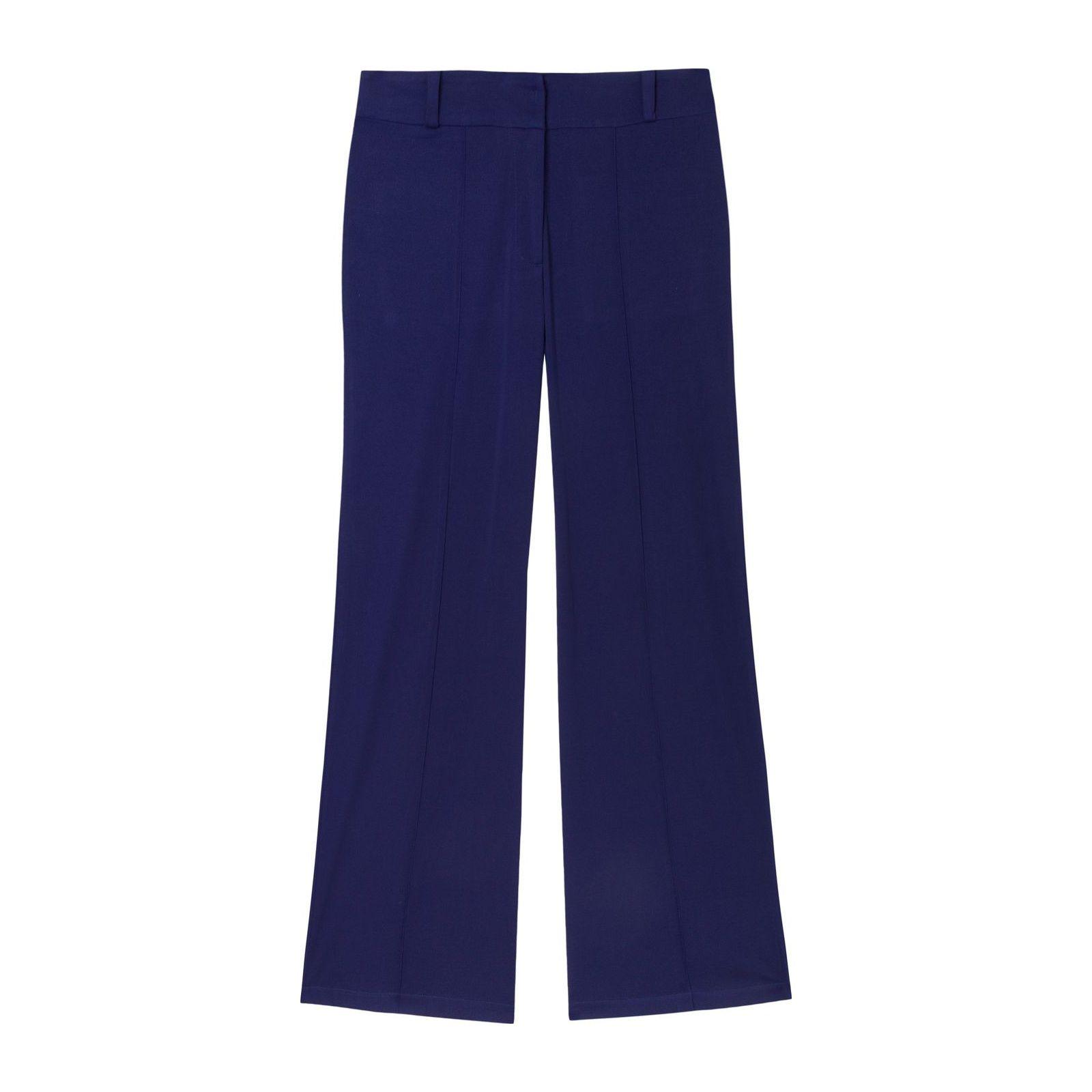 Calça Pantalona - Azul
