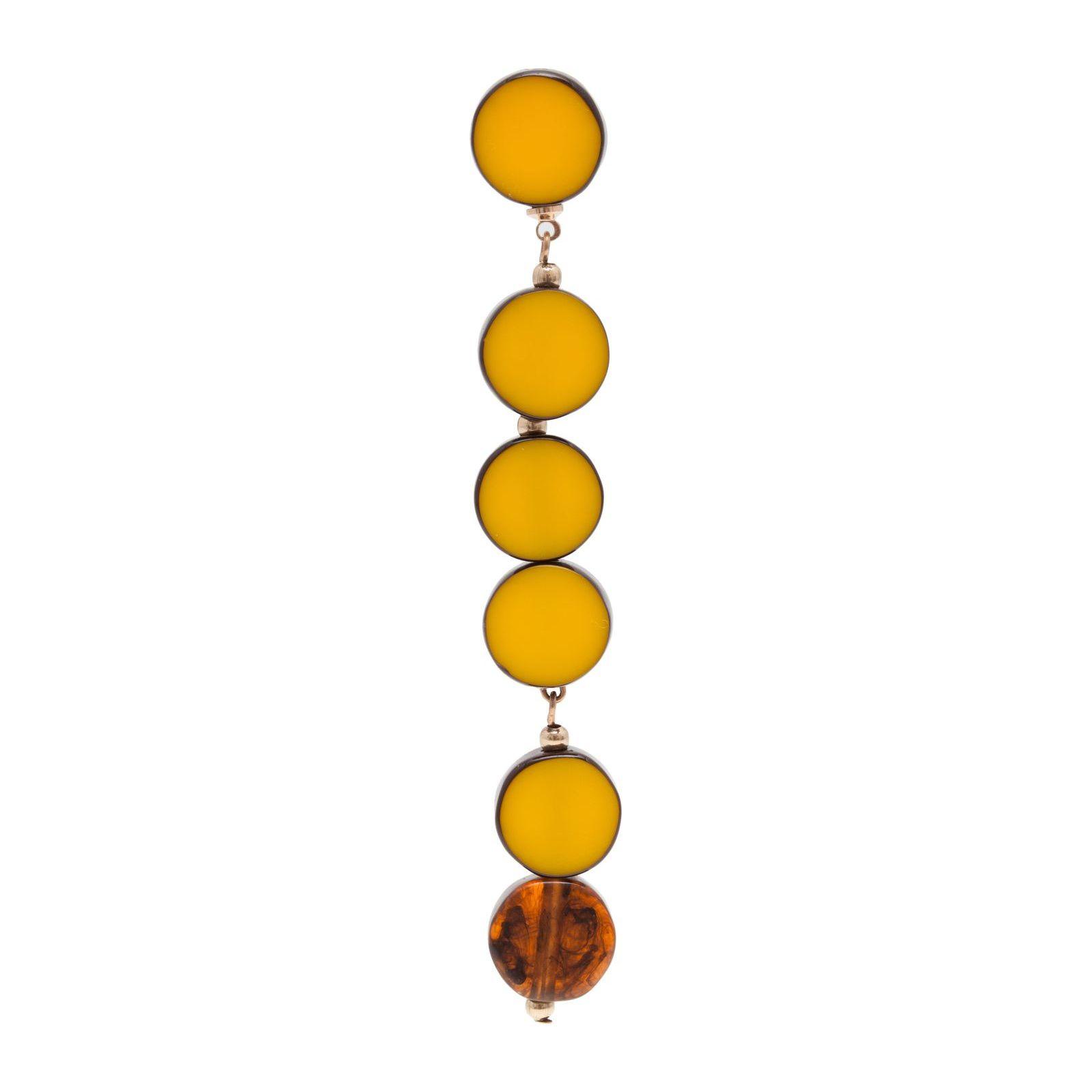 Brinco Unitário Volans - Amarelo