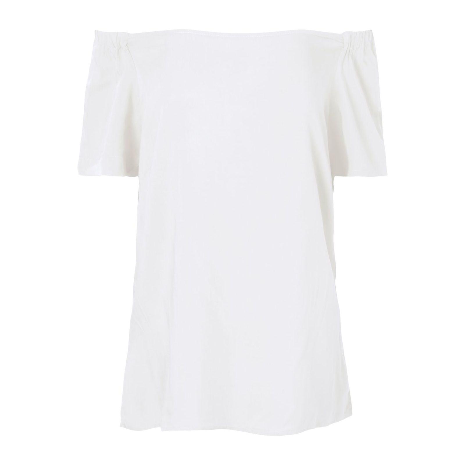 Blusa Ombro A Ombro Isabella Fiorentino - Off White