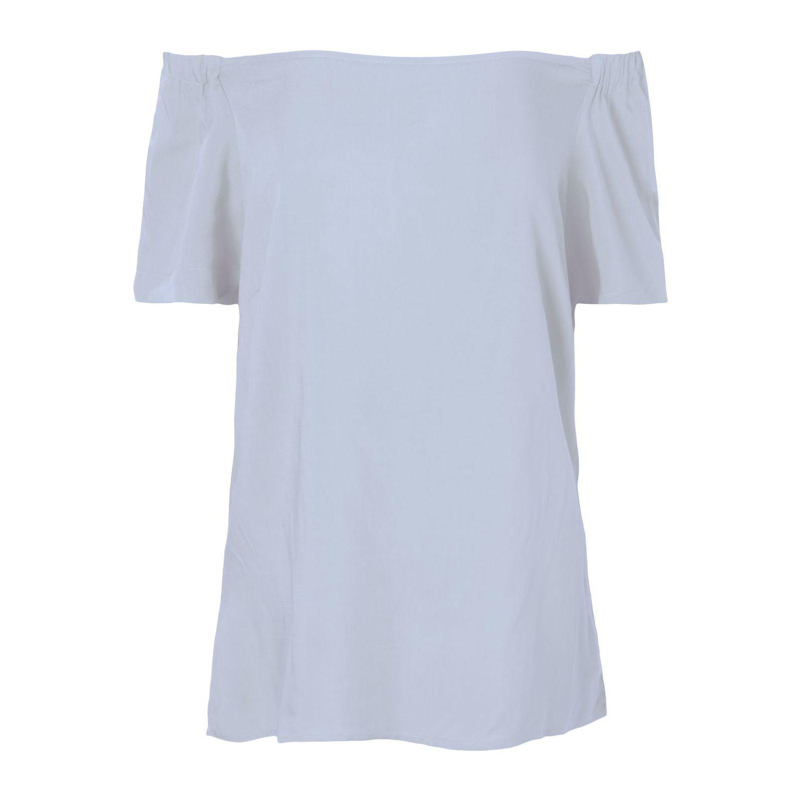 Blusa Ombro A Ombro Isabella Fiorentino - Azul
