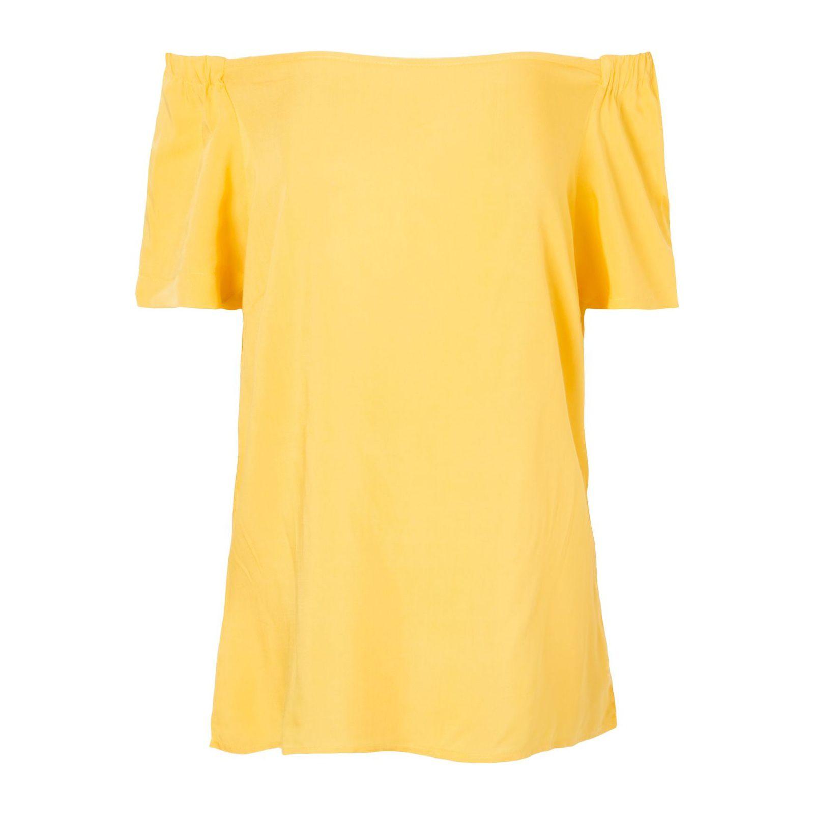 Blusa Ombro A Ombro Isabella Fiorentino - Amarela