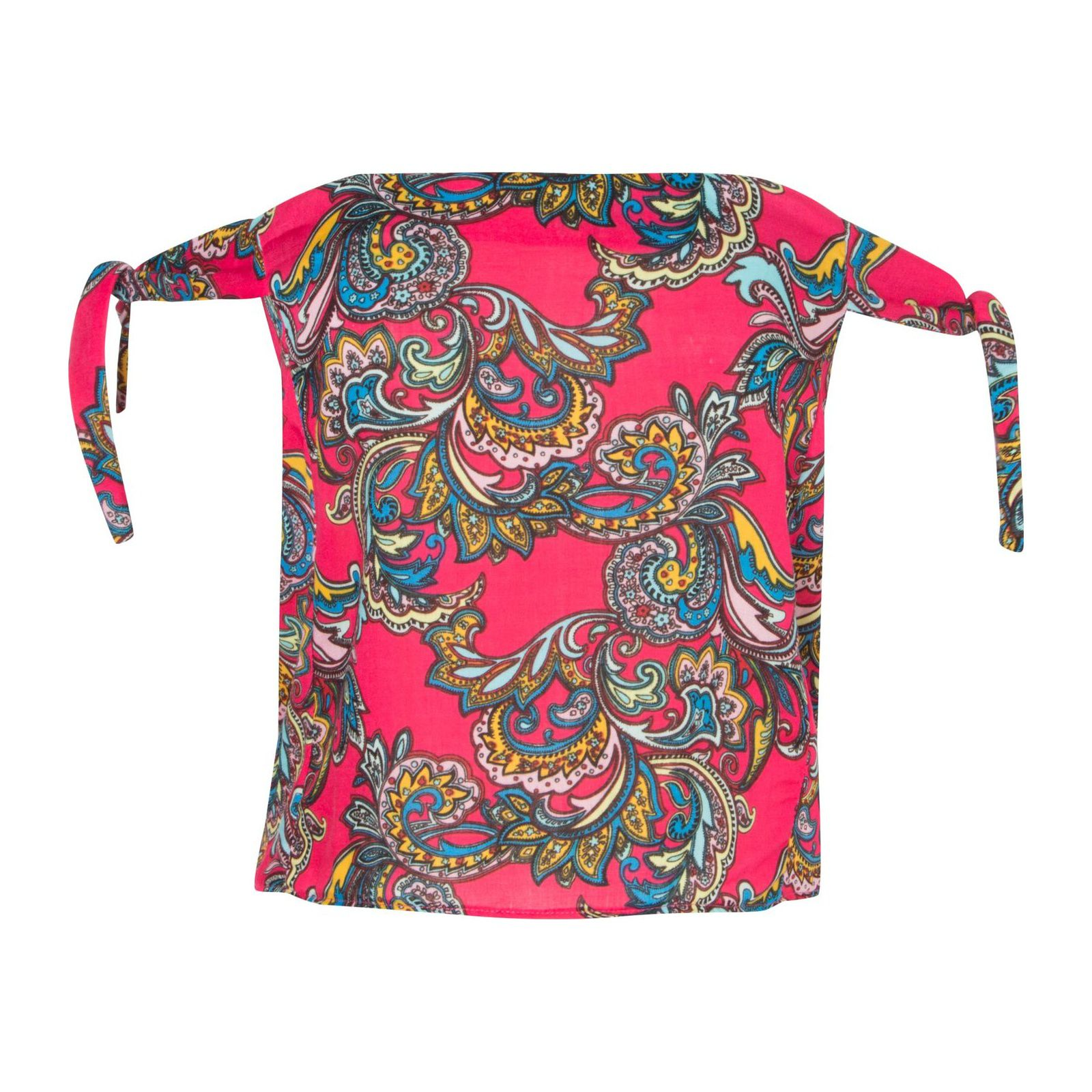 Blusa Ombro A Ombro Twing Paisley