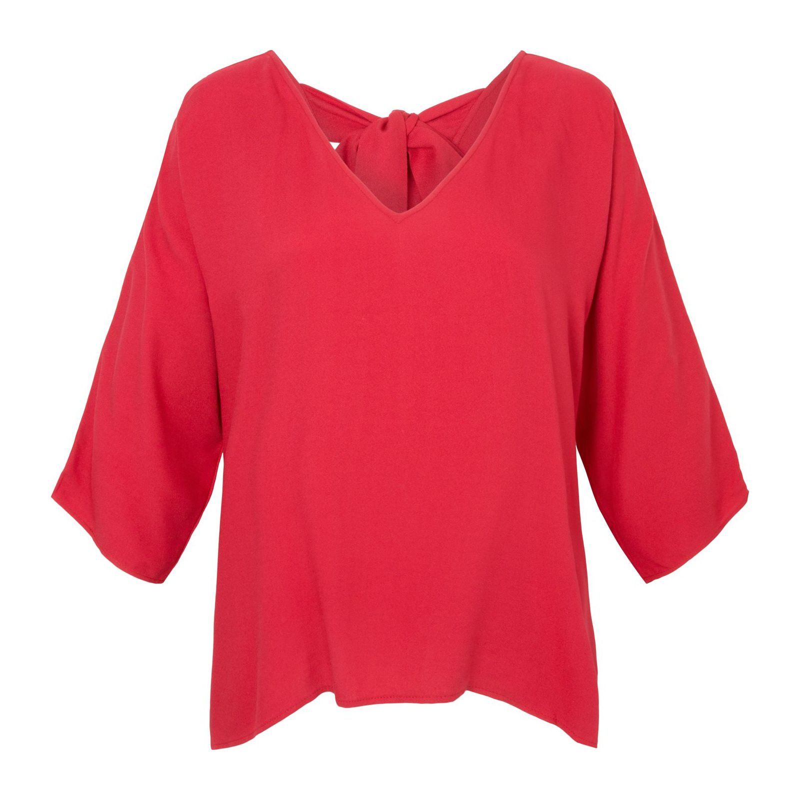 Blusa Amarração Costas Isabella Fiorentino - Vermelha