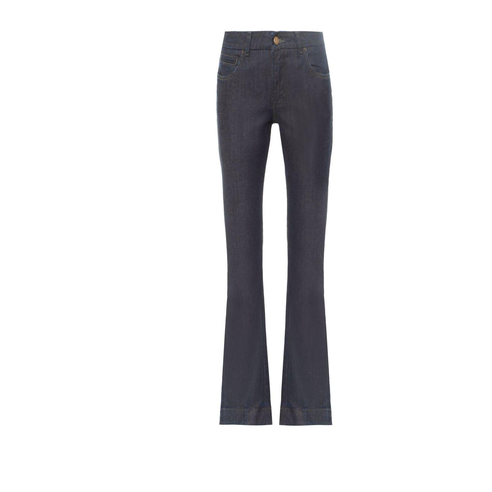 Calça Jeans Flare Simone - Azul