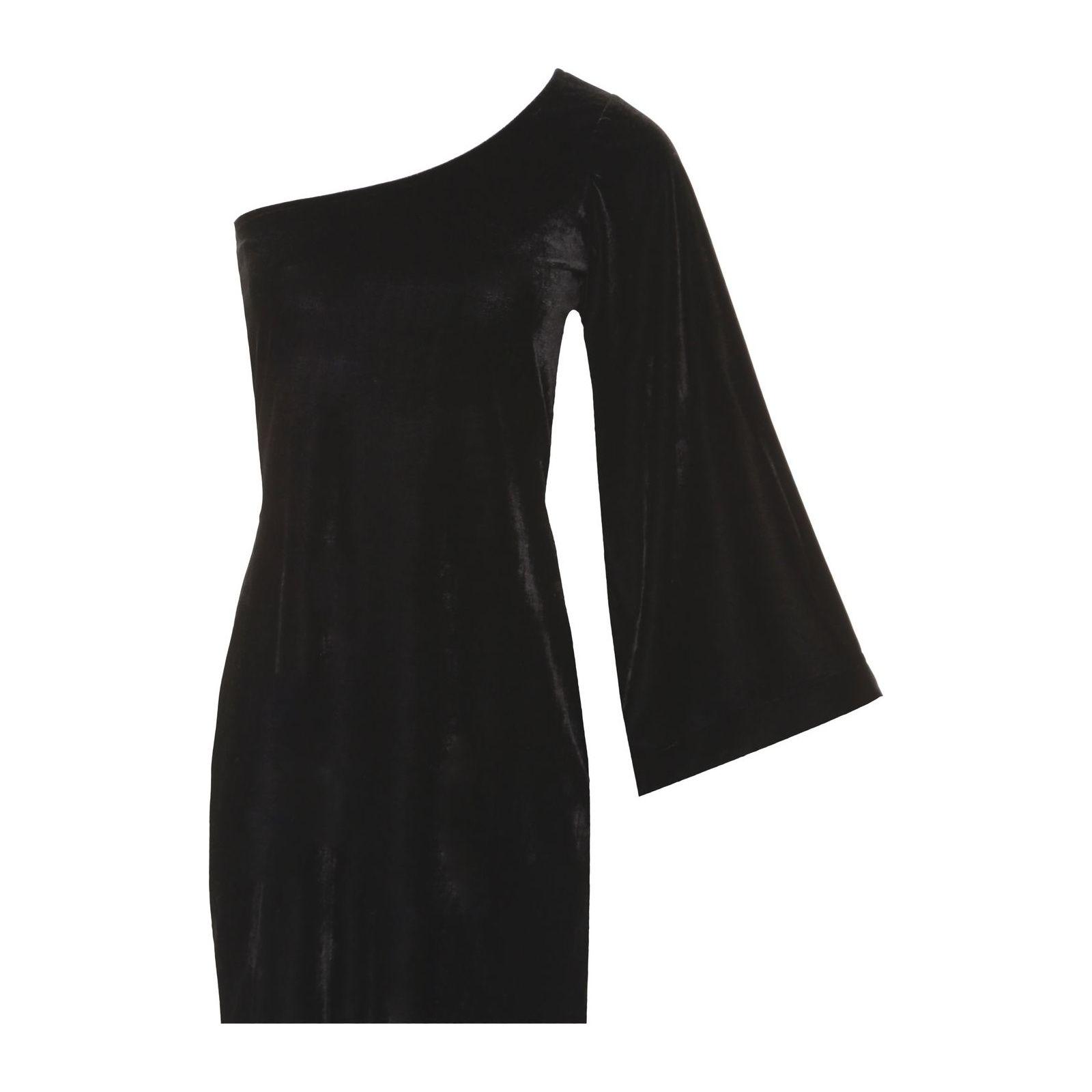 Vestido Ombro Só Ivana - Preto