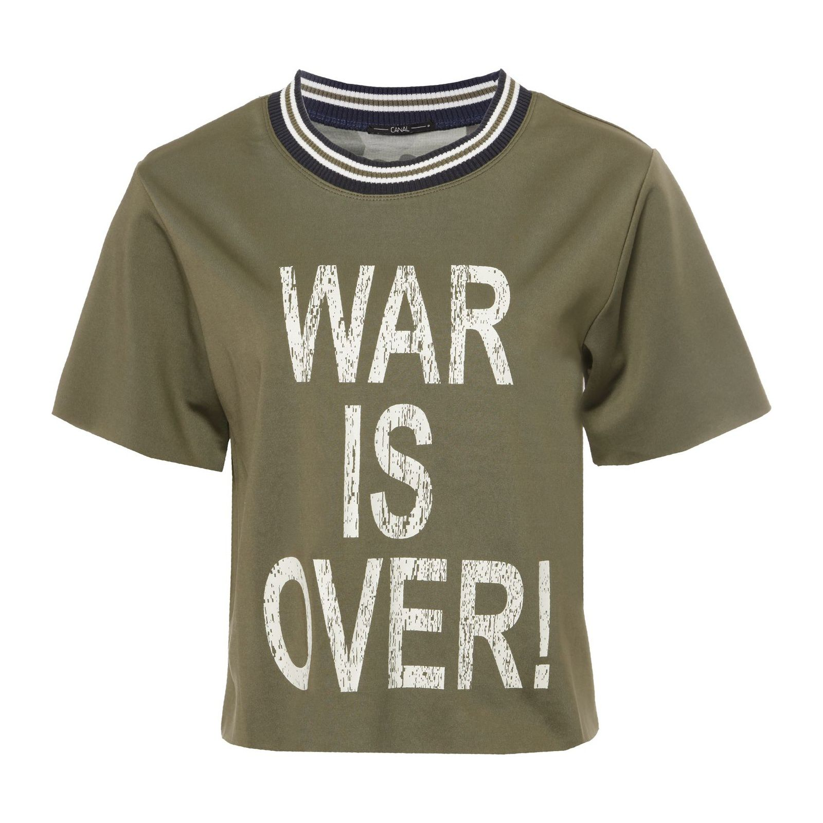 Blusa War Is Over - Verde
