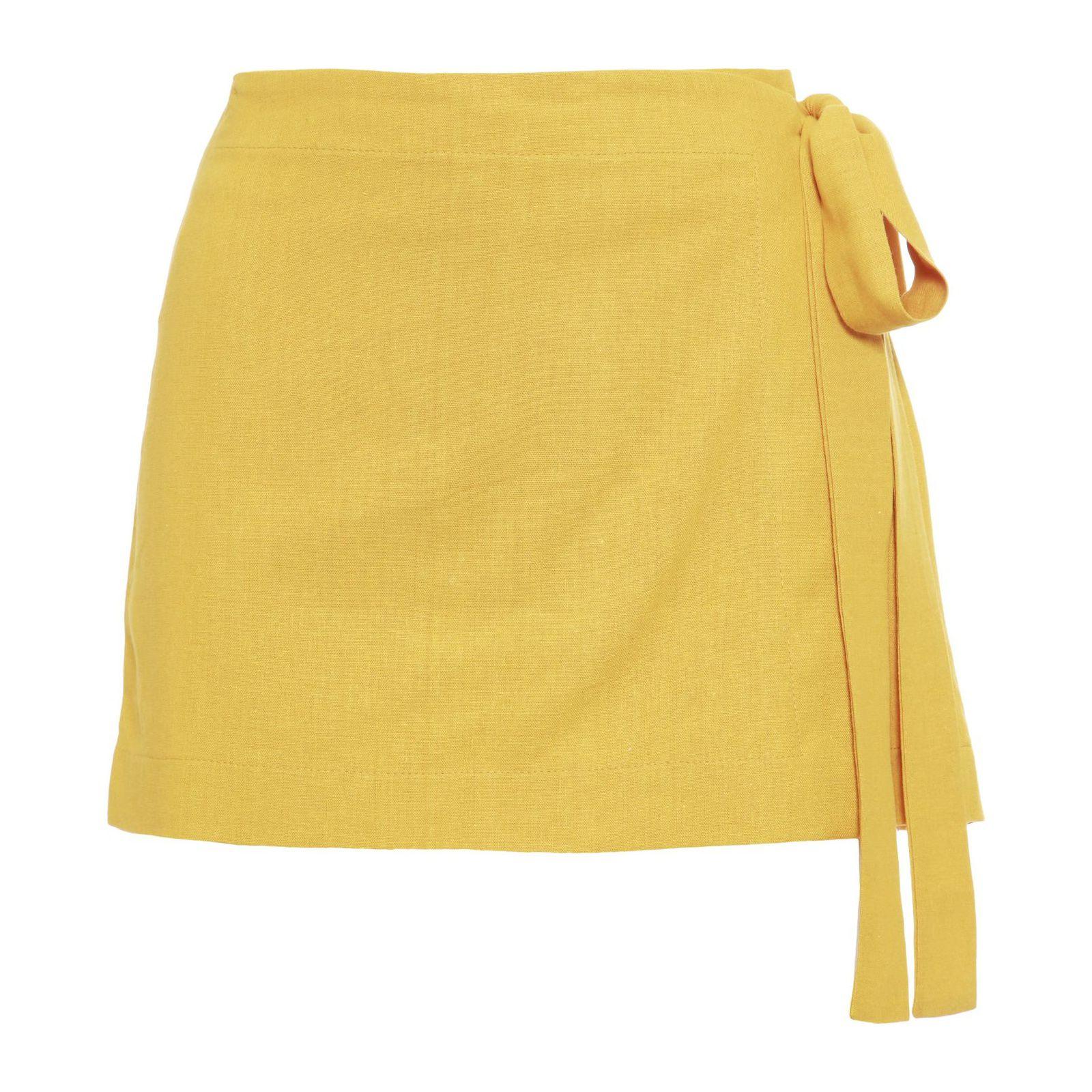 Short Saia Narcis - Amarelo