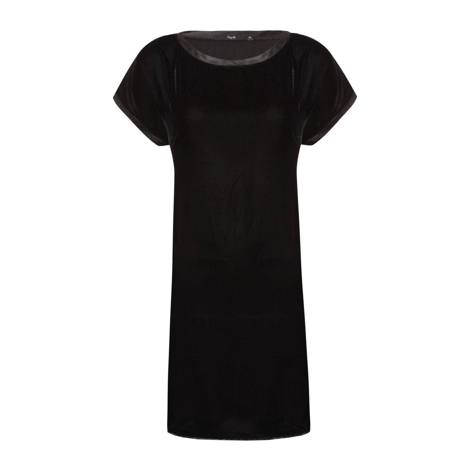 Vestido Veludo Estelícia - Preto