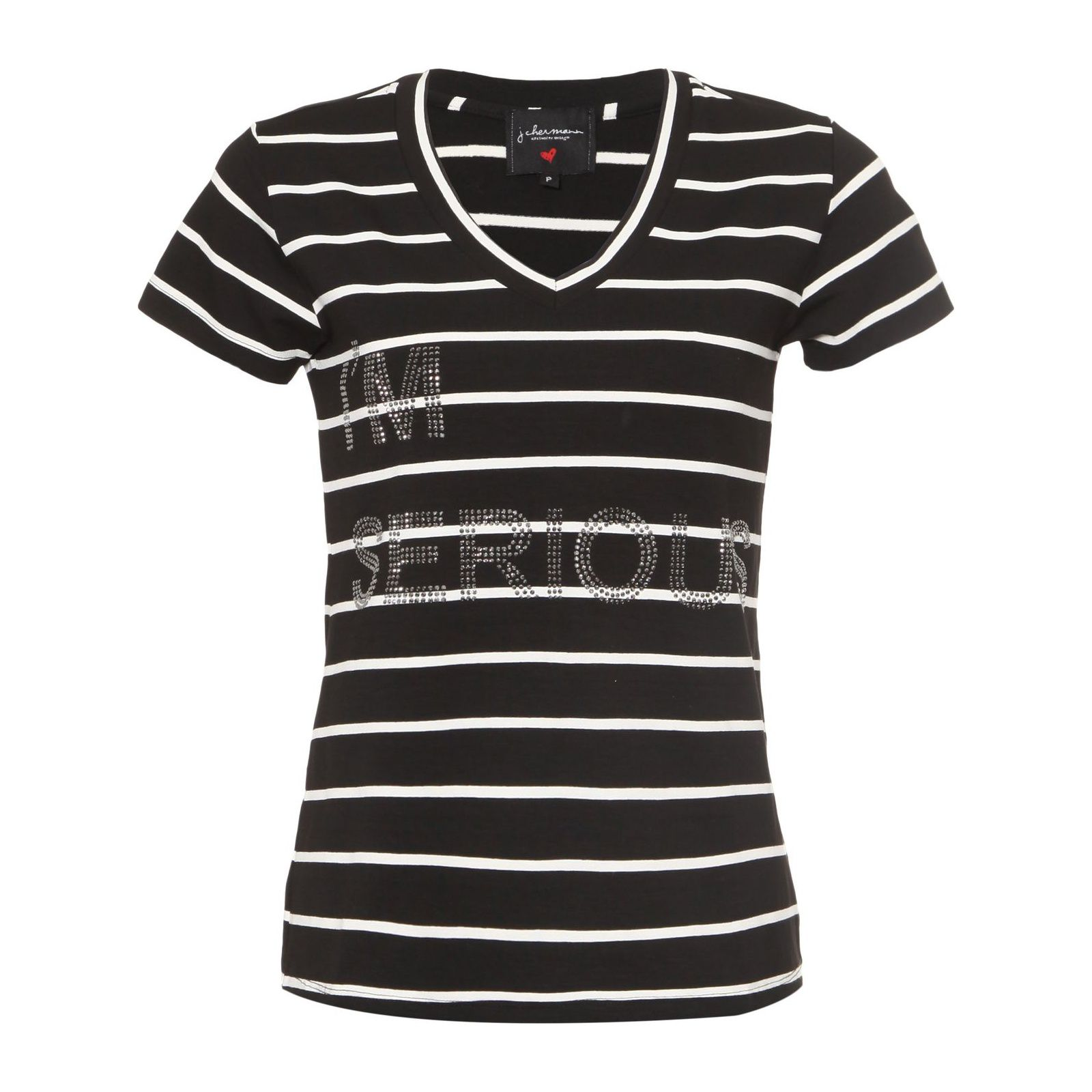 T-Shirt I'm Serious - Preto