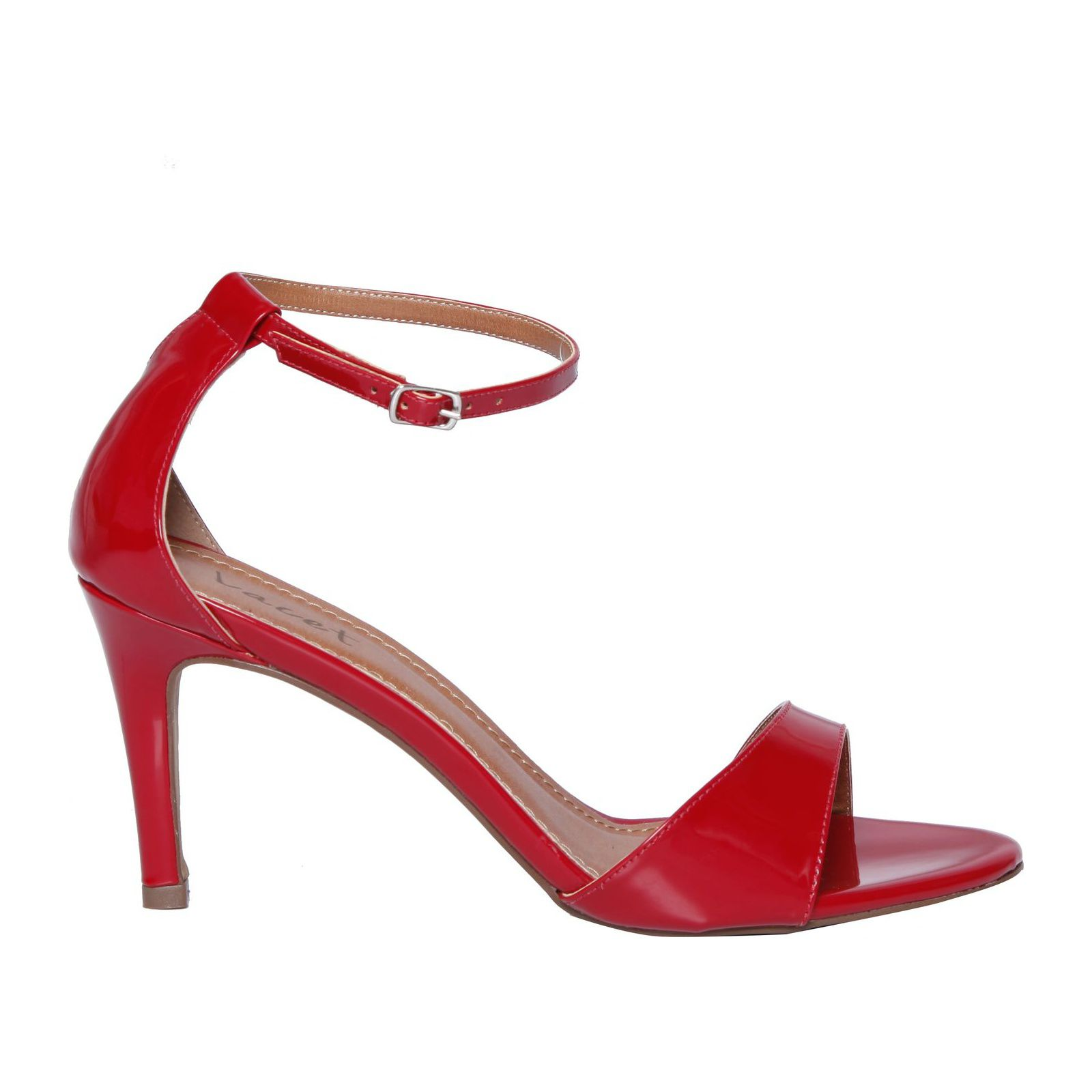 Sandália Salto Elegance - Vermelha