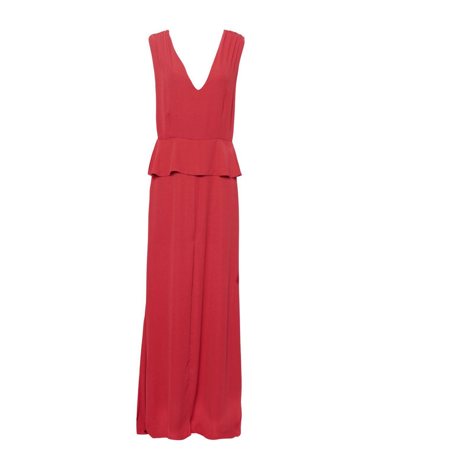 Vestido Longo Marina - Vermelho