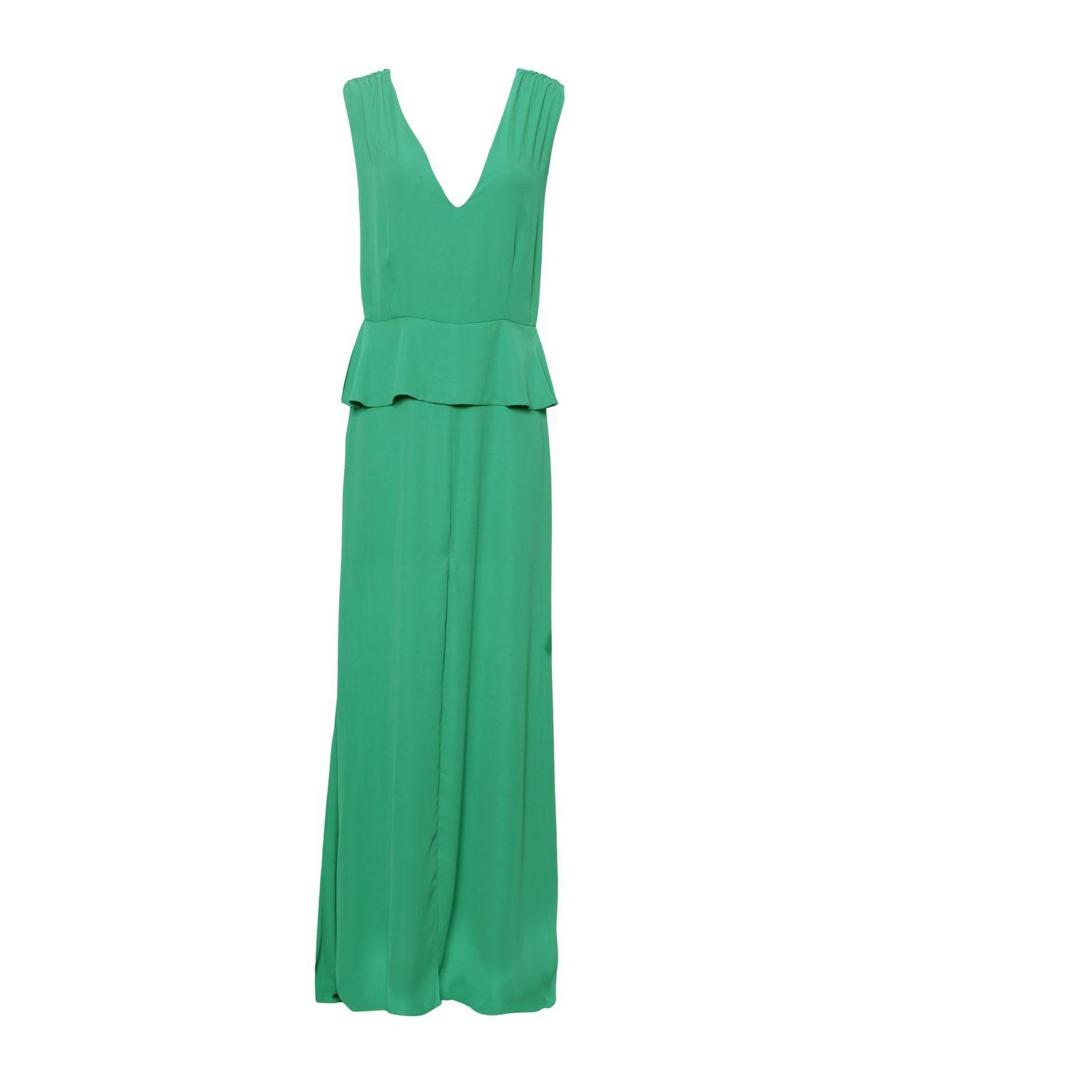 Vestido Longo Marina - Verde