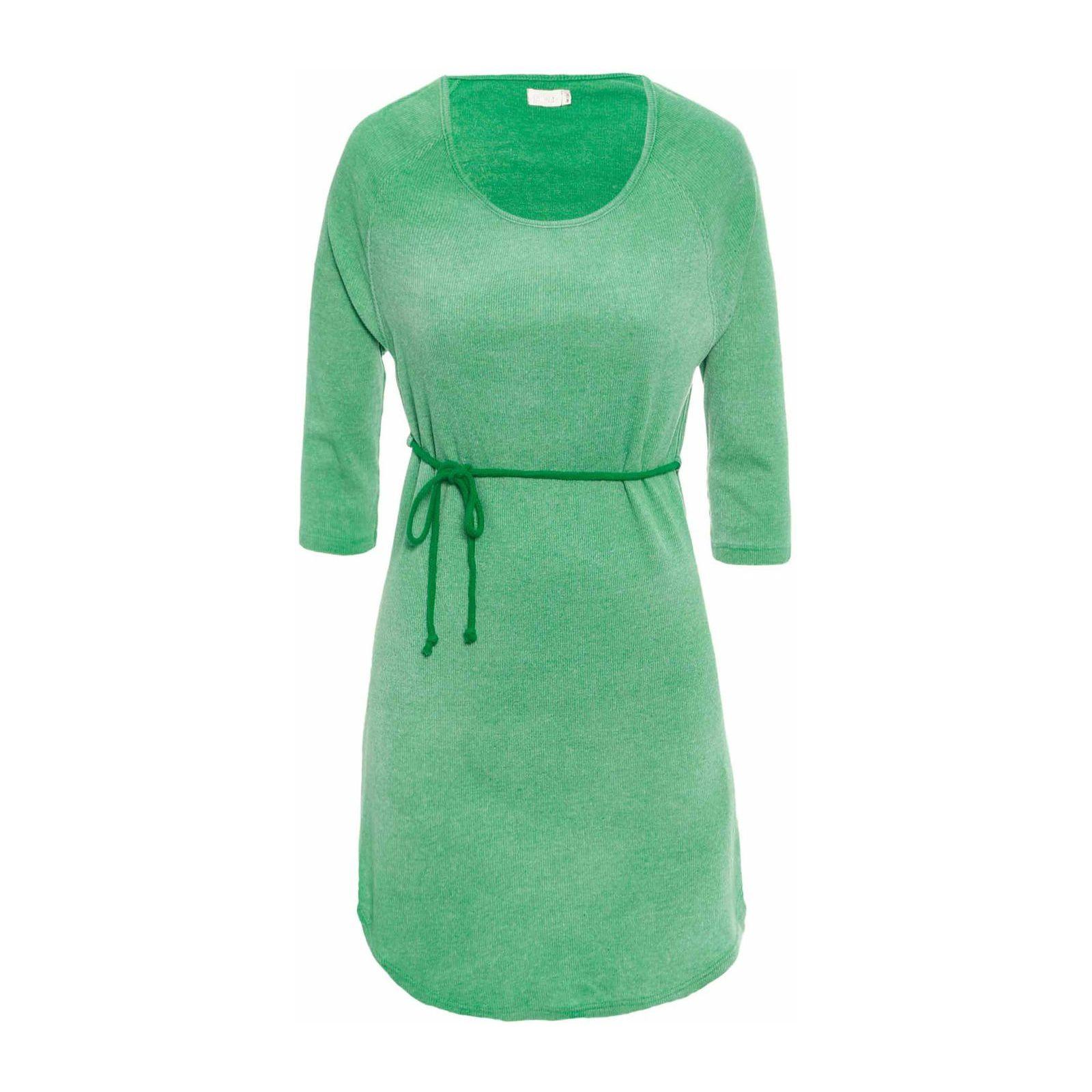 Vestido Rib Stone - Verde
