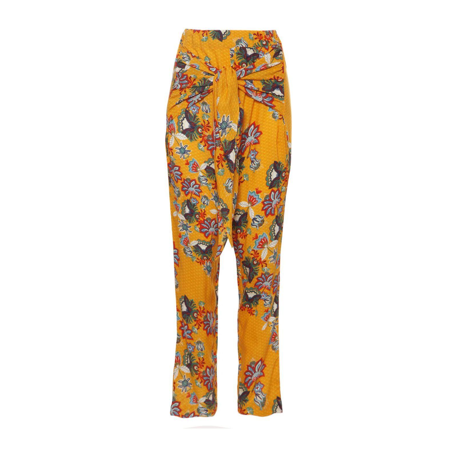 Calça Pantalona Malik - Amarela