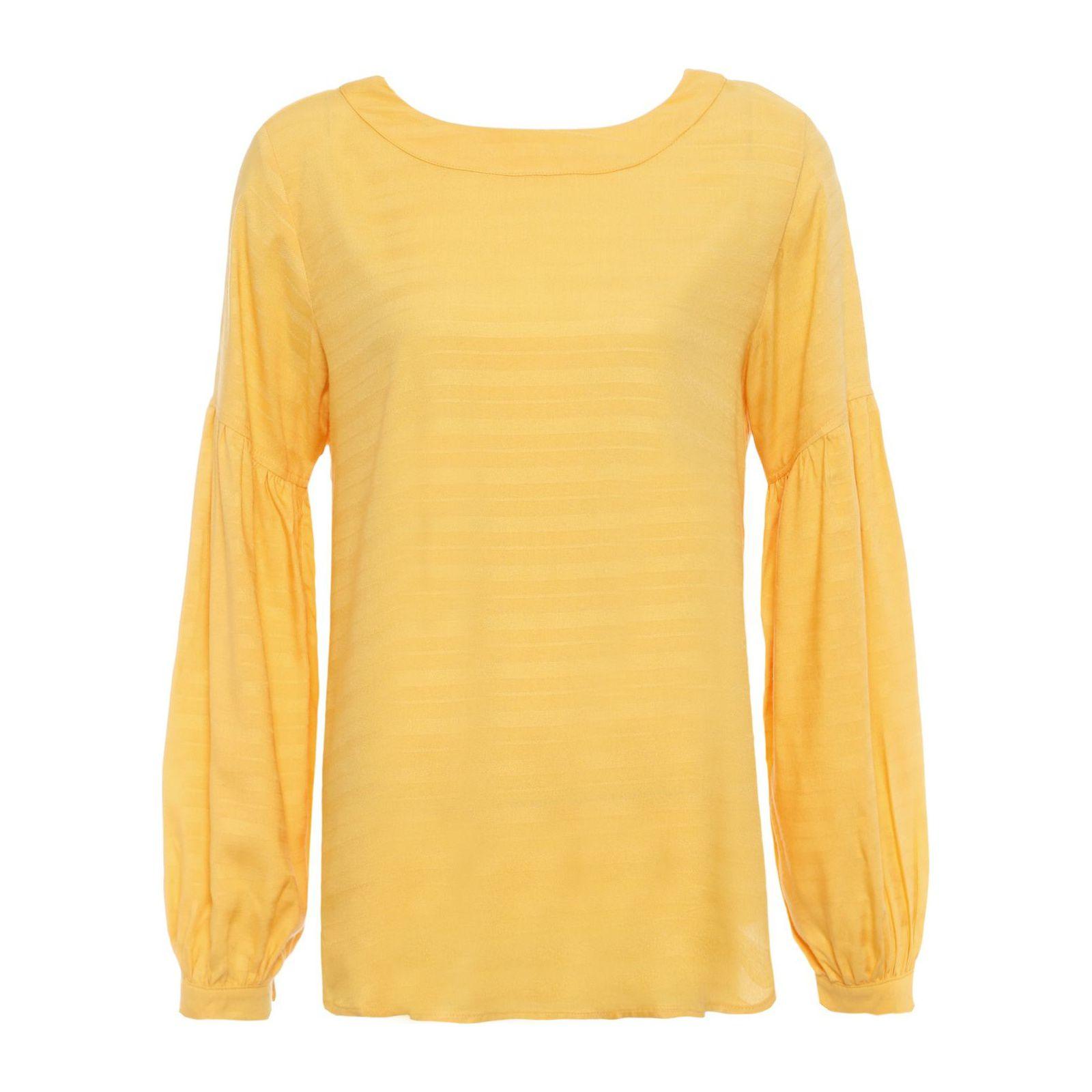 Blusa Decote Posterior - Amarelo
