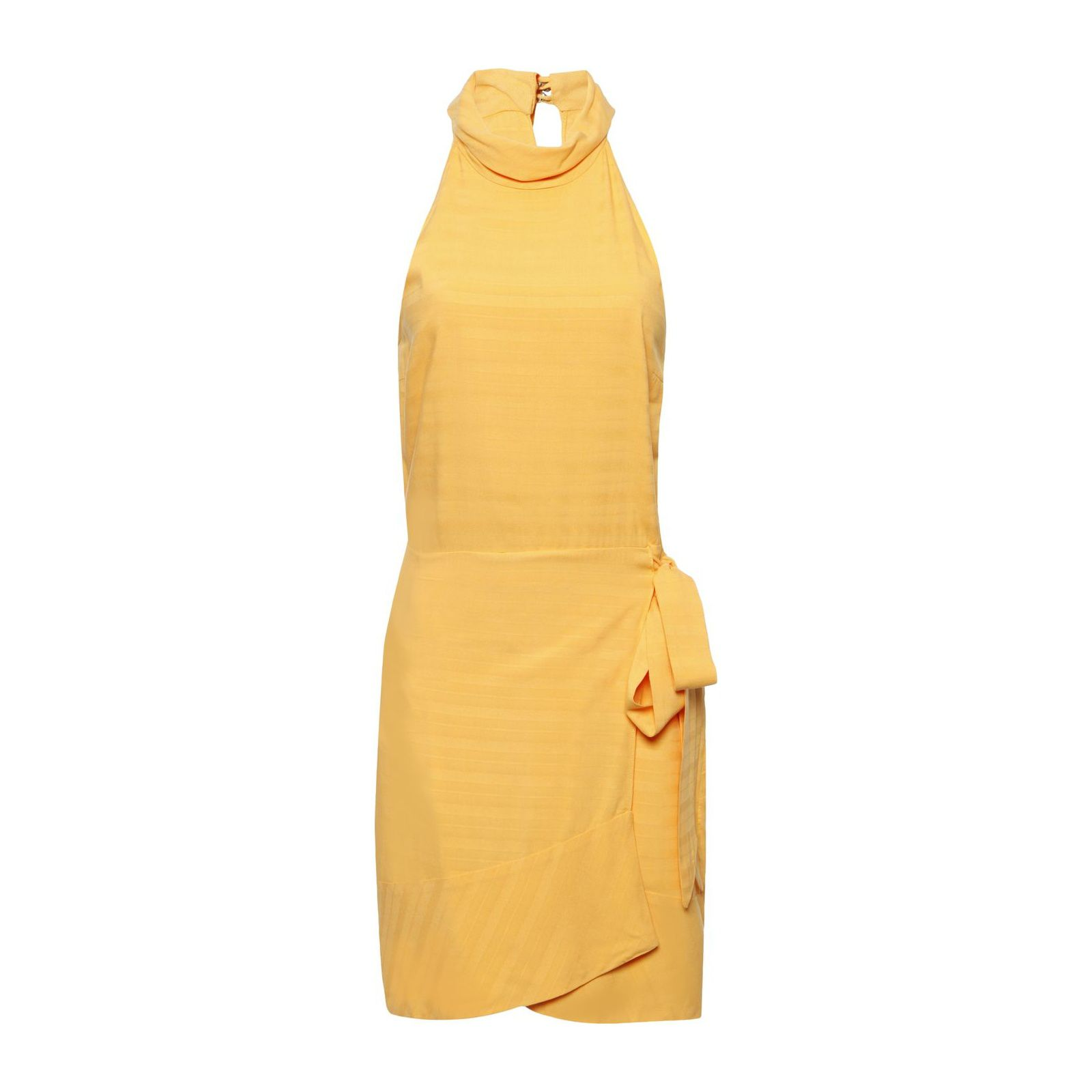 Vestido Mídi Gola - Amarelo