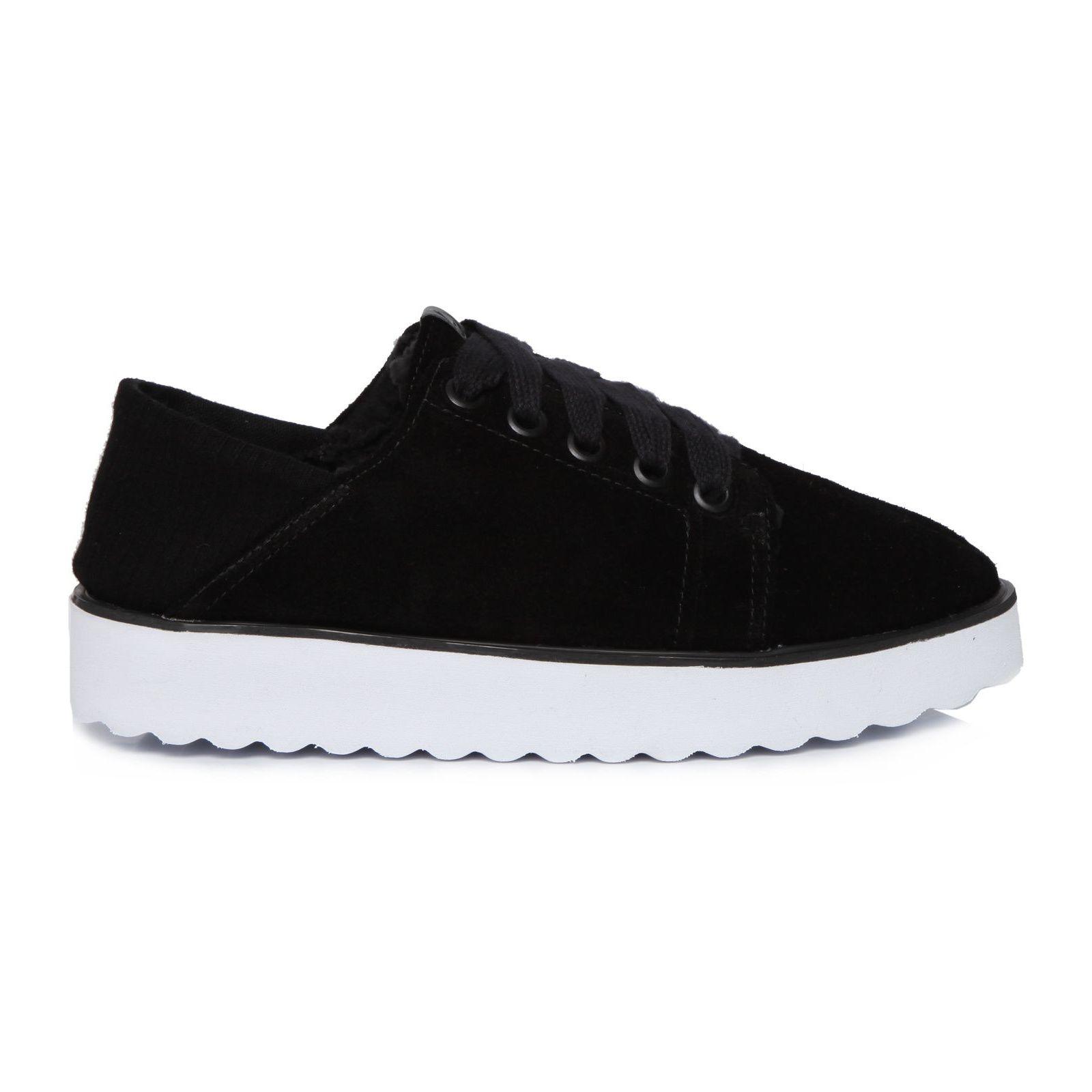 Tênis Way Sneaker Suede - Preto