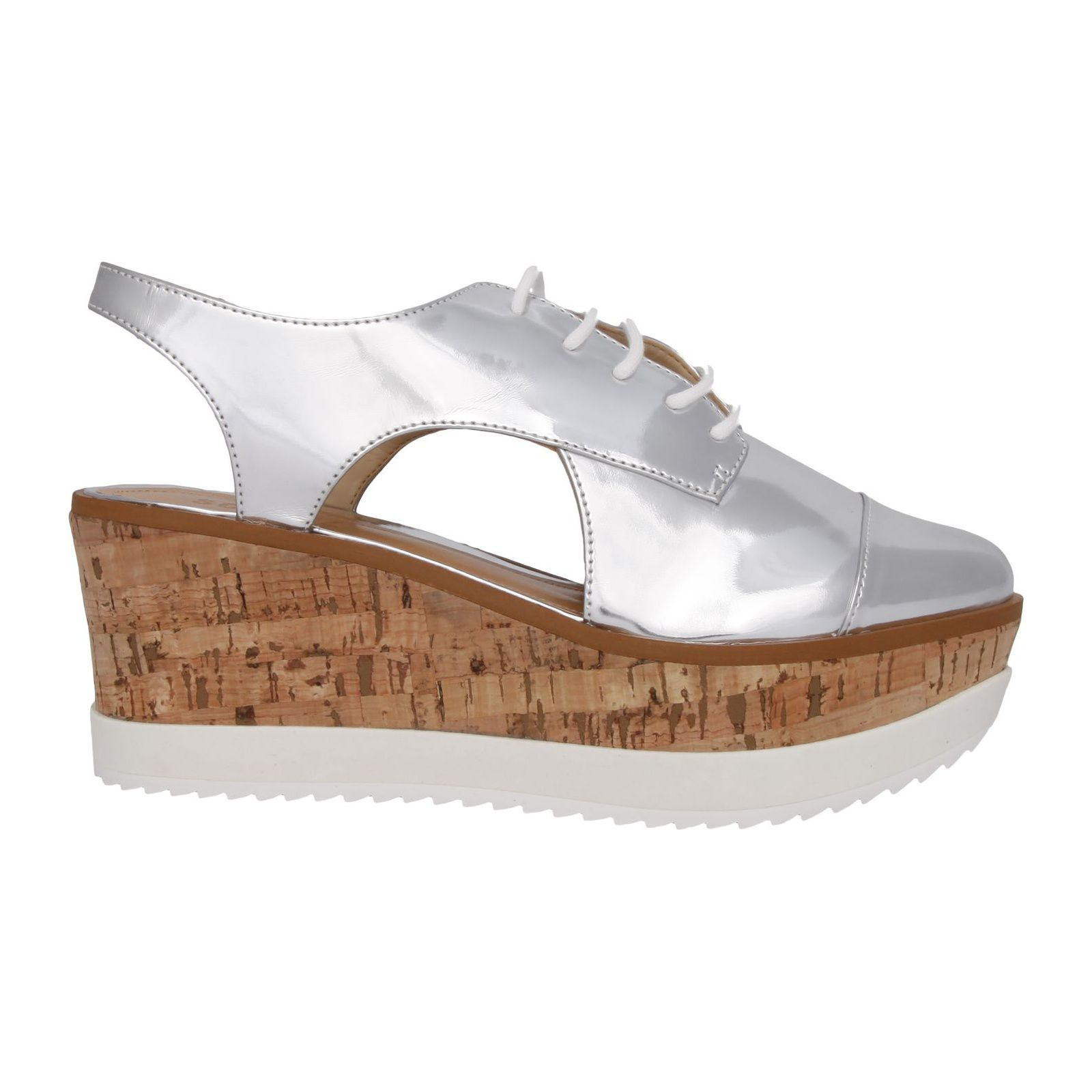 Oxford Flatform Spechio Other - Prata