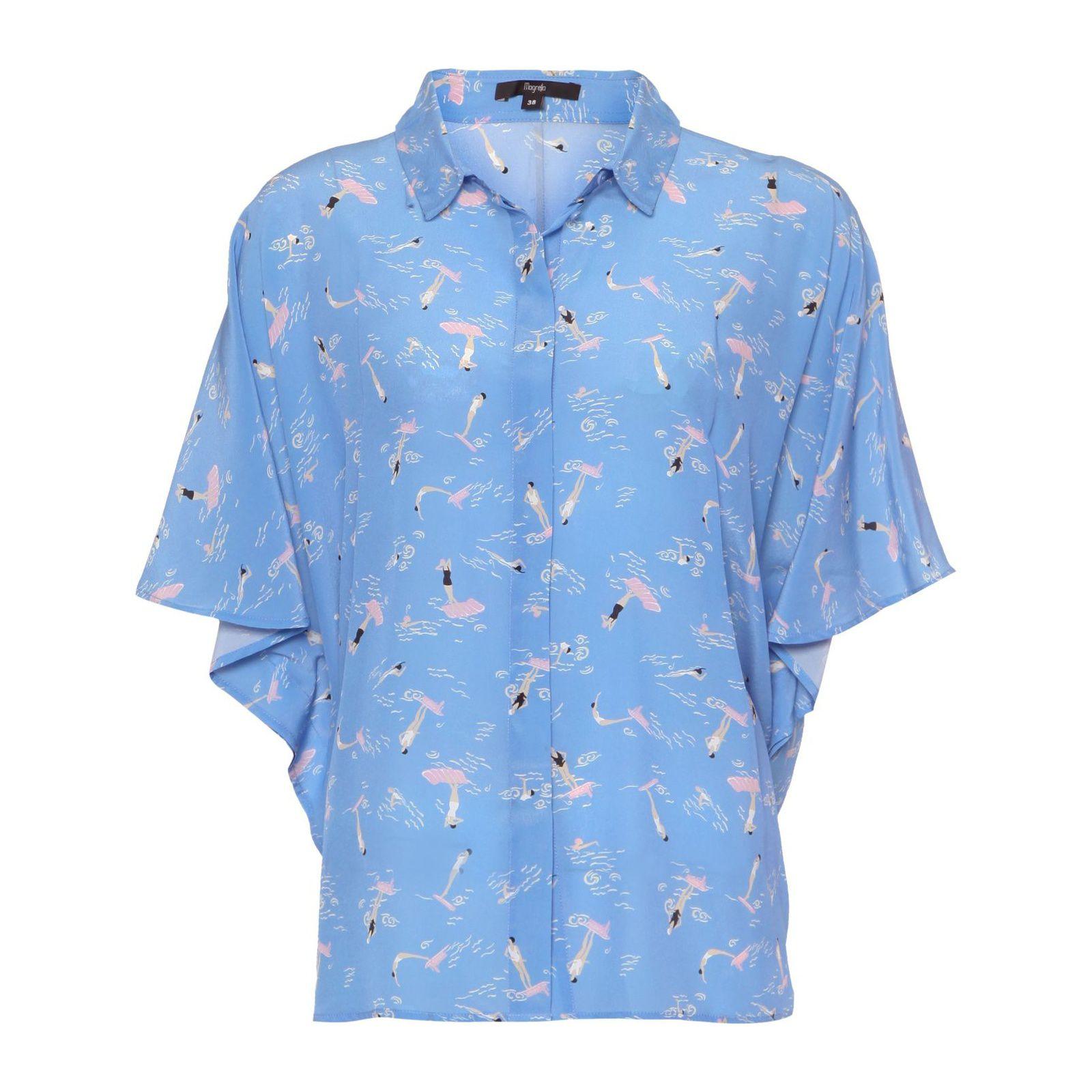 Camisa Martha - Azul