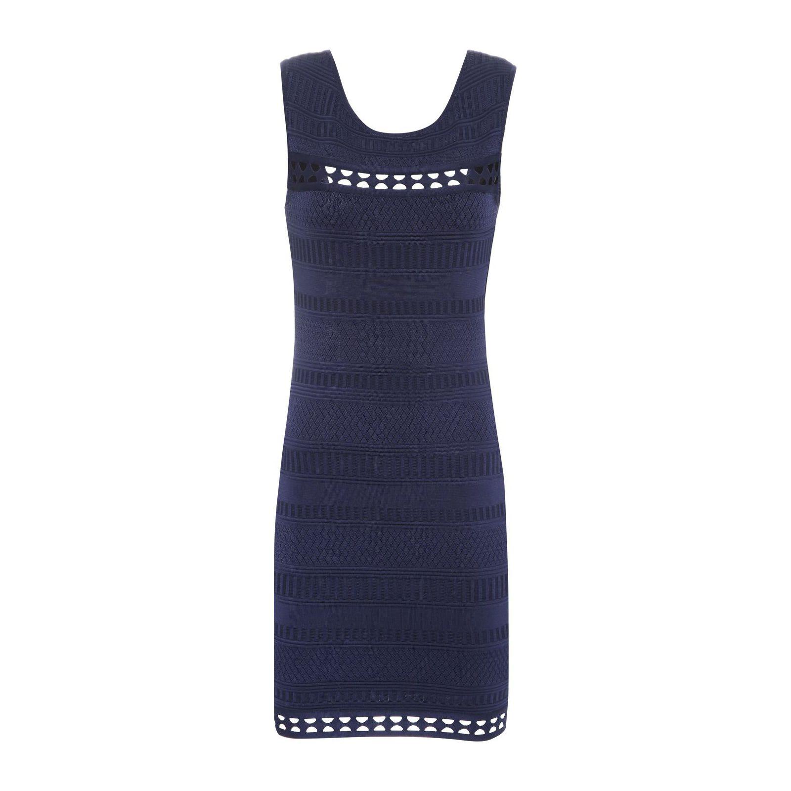 Vestido Tricô Elizabeth Taylor - Azul