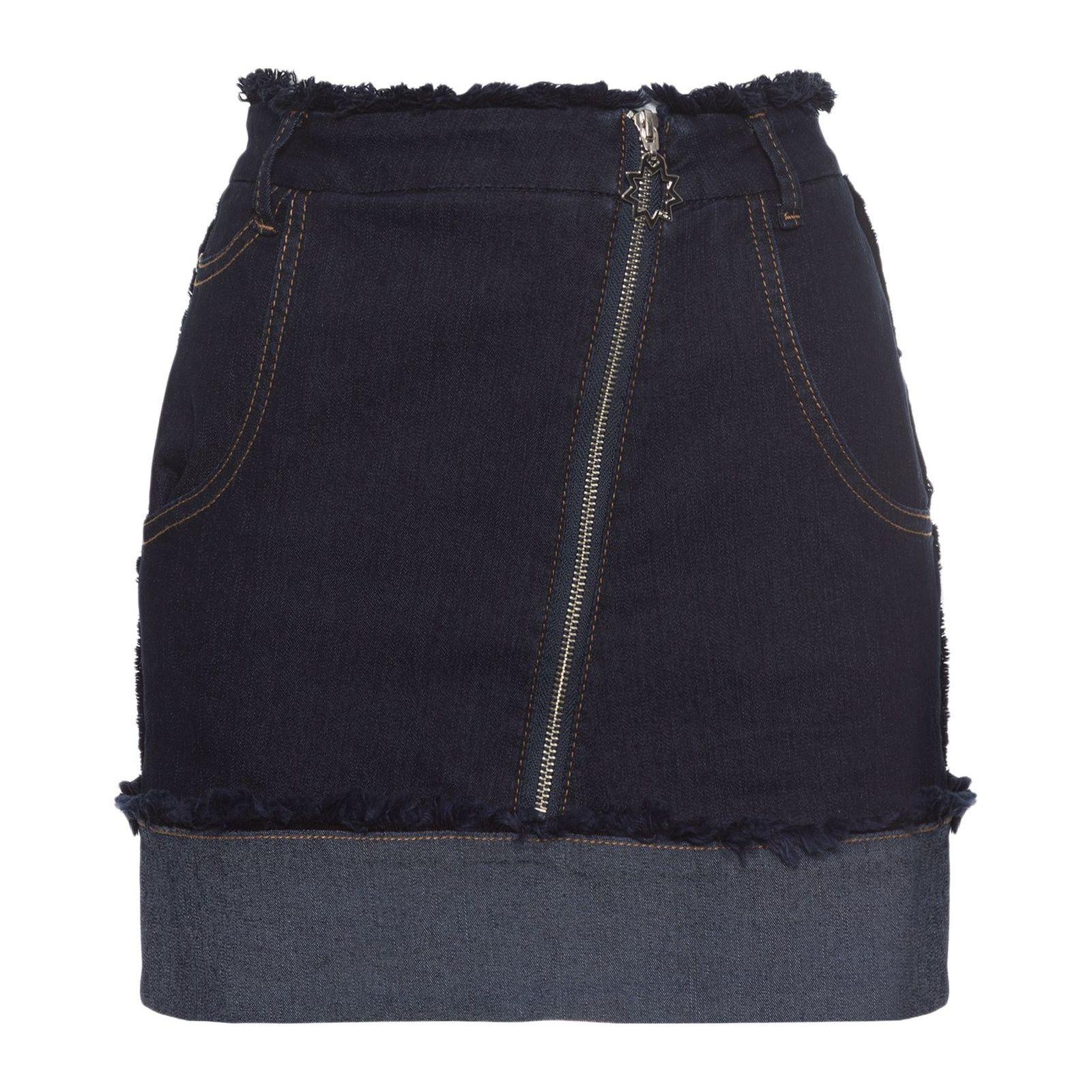 Saia Jeans Francine - Azul