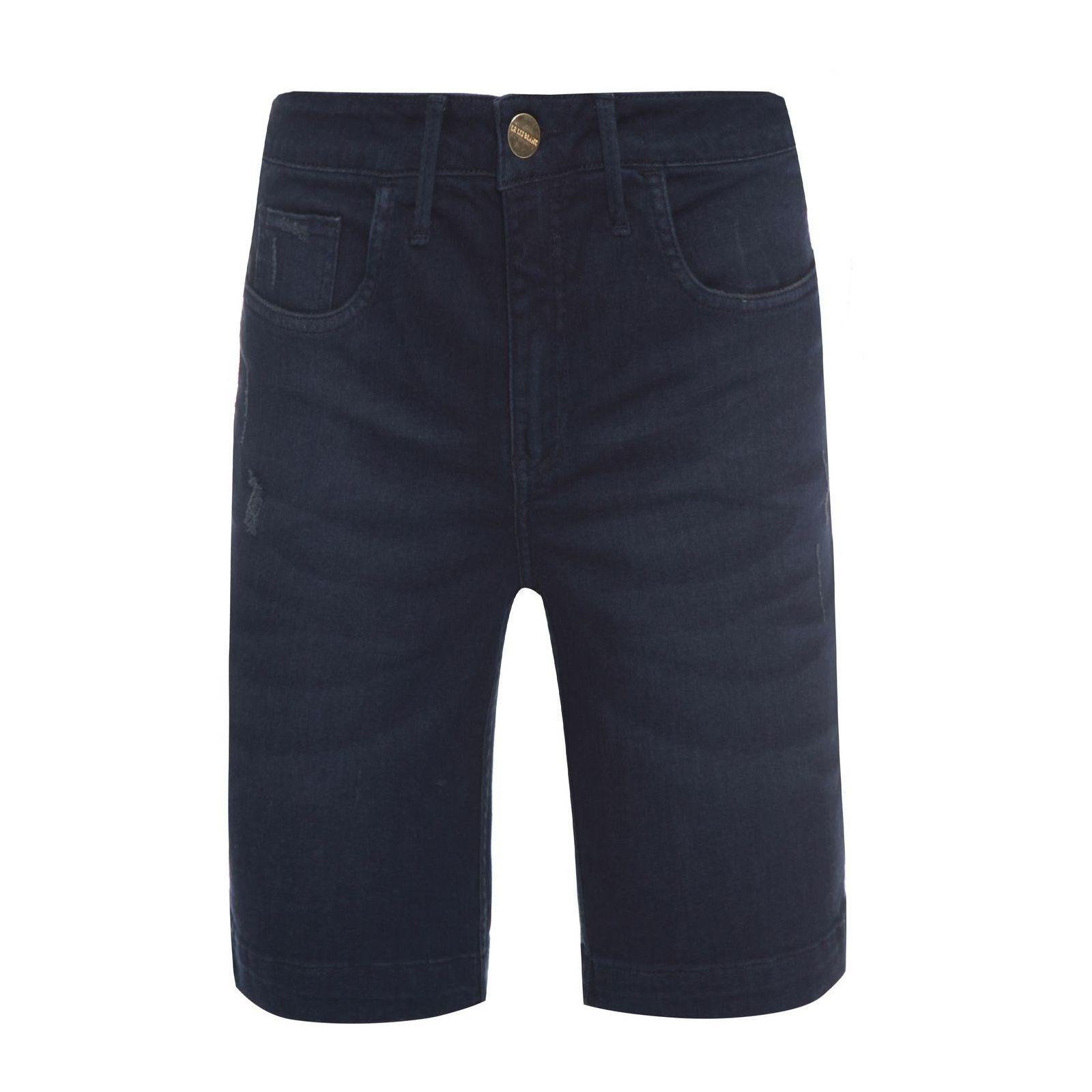 Bermuda Jeans Paula - Azul