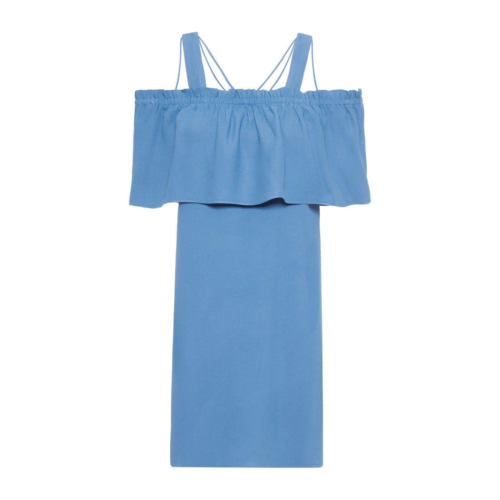 Vestido Jackie Alcinha - Azul