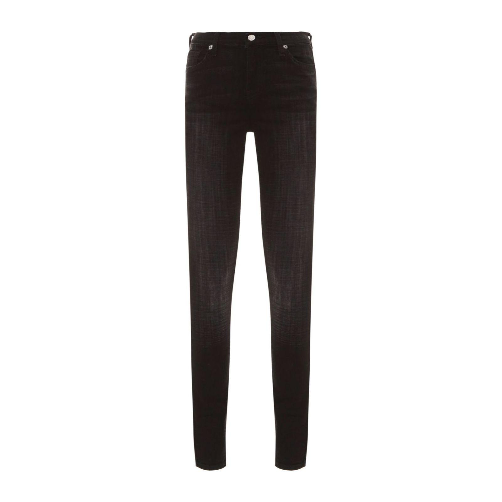 Calça Jeans The Ankle Skinny - Preto