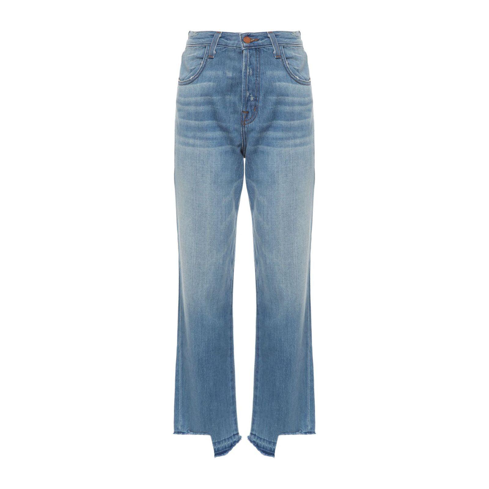 Calça Jeans Ivy High Rise Crop Straight - Azul