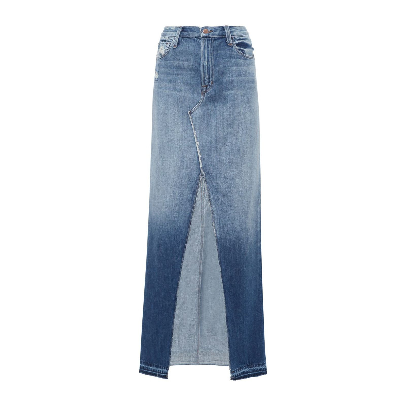 Saia Jeans Trystan Maxi - Azul